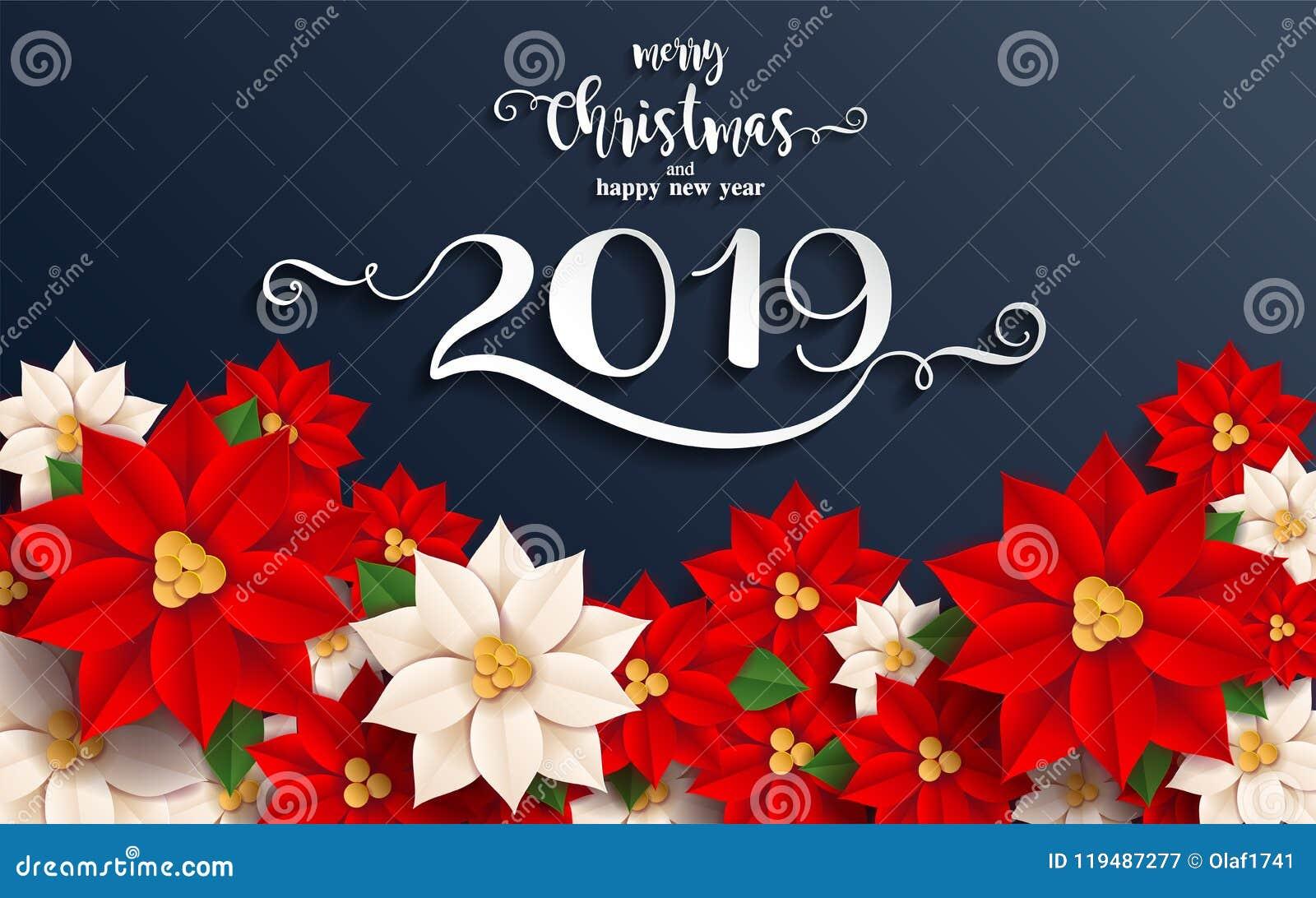 Feliz Natal e ano novo feliz 2019
