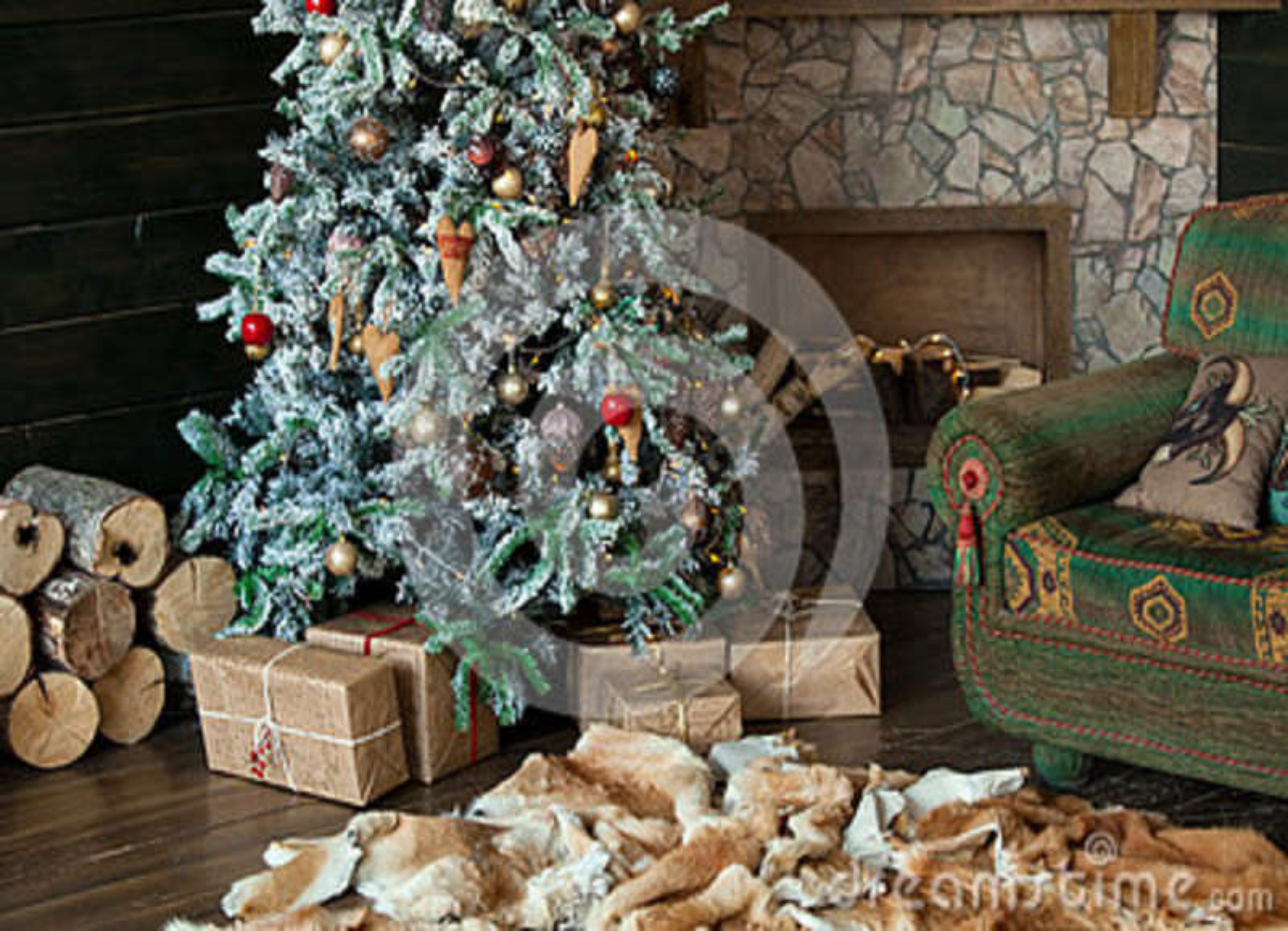 Feliz Natal e fundo do ano novo