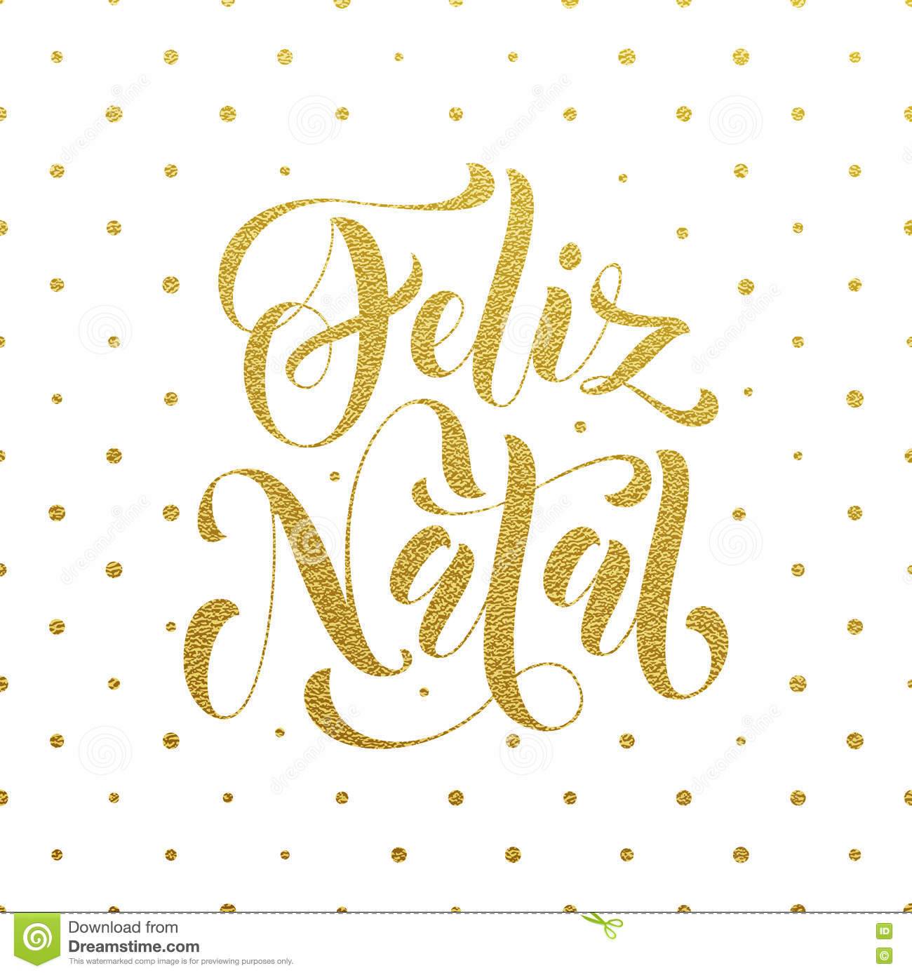 Feliz natal gold glitter greeting portuguese christmas stock feliz natal gold glitter greeting for portuguese brazilian ano novo merry christmas xmas new year holiday card vector hand drawn festive text for m4hsunfo