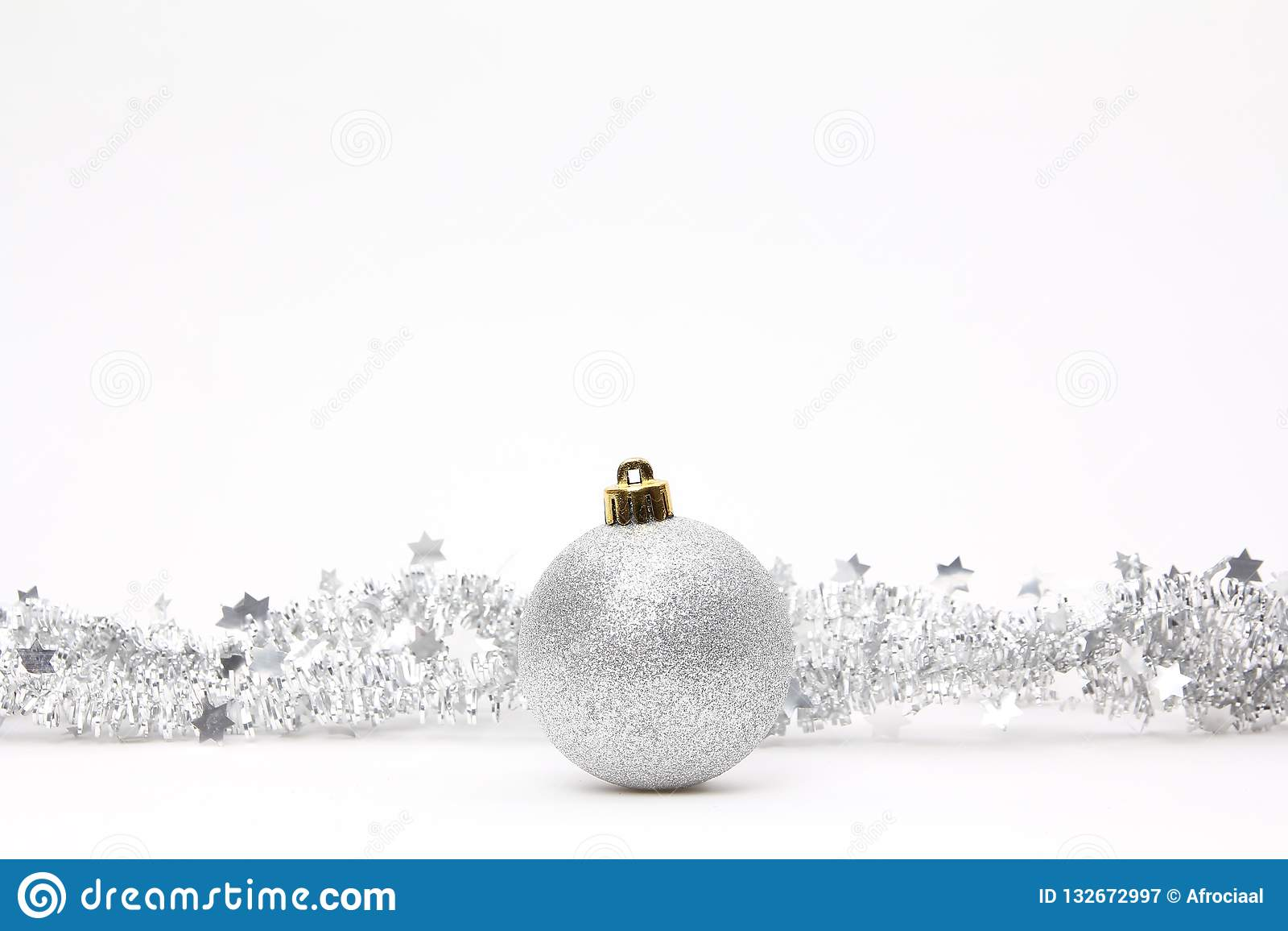 Feliz Natal na frente de um fundo branco