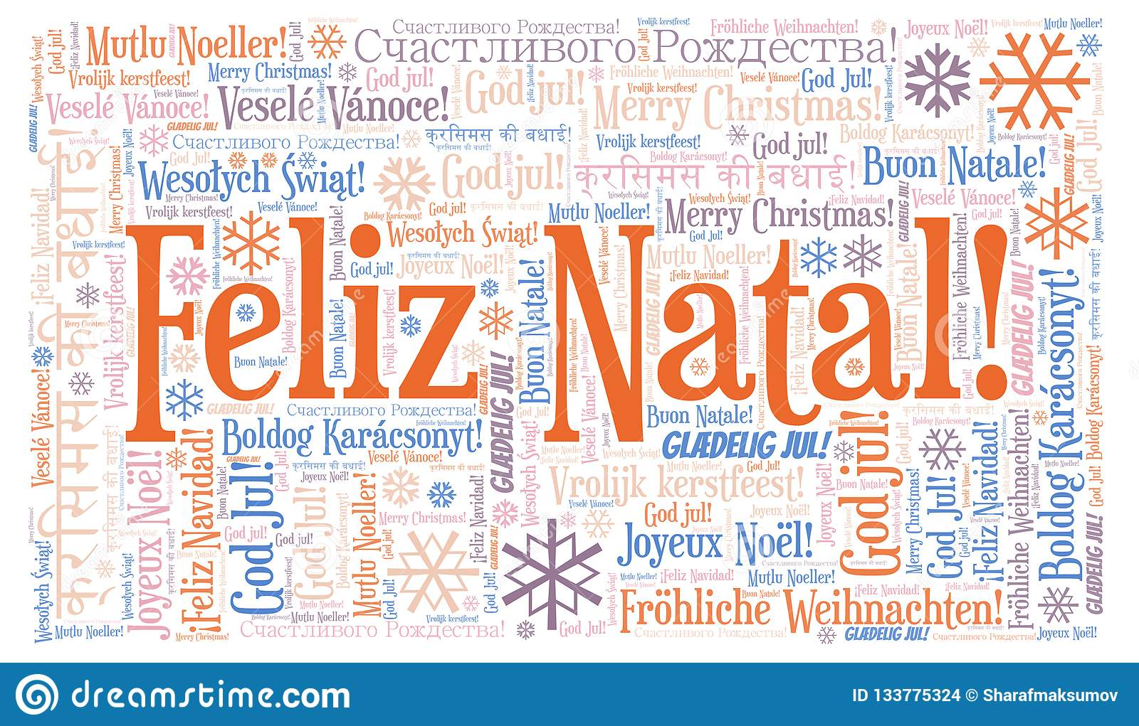 Weihnachtsessen Portugal.Feliz Natal Word Cloud Merry Christmas On Portugal Language And