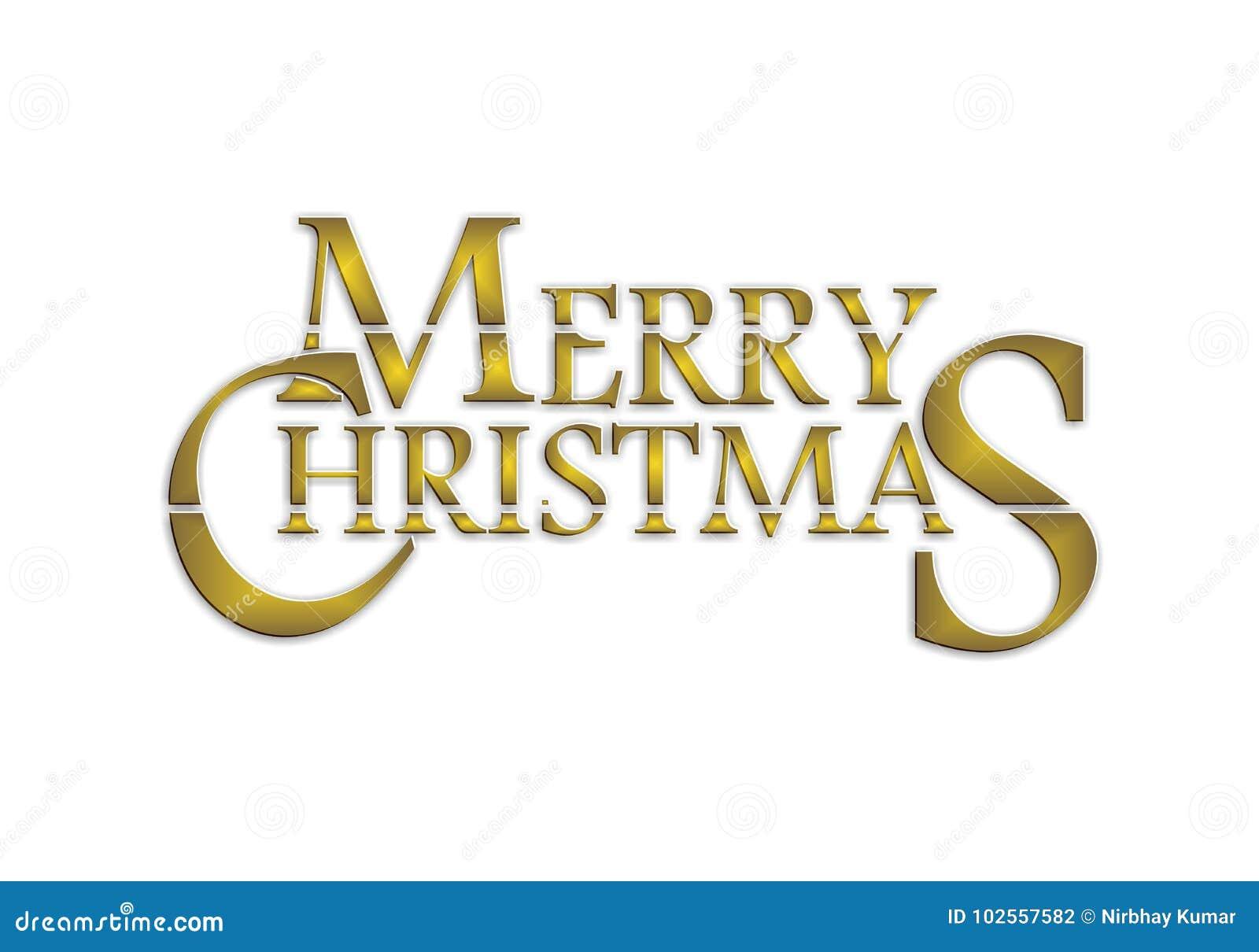 Feliz Navidad de oro