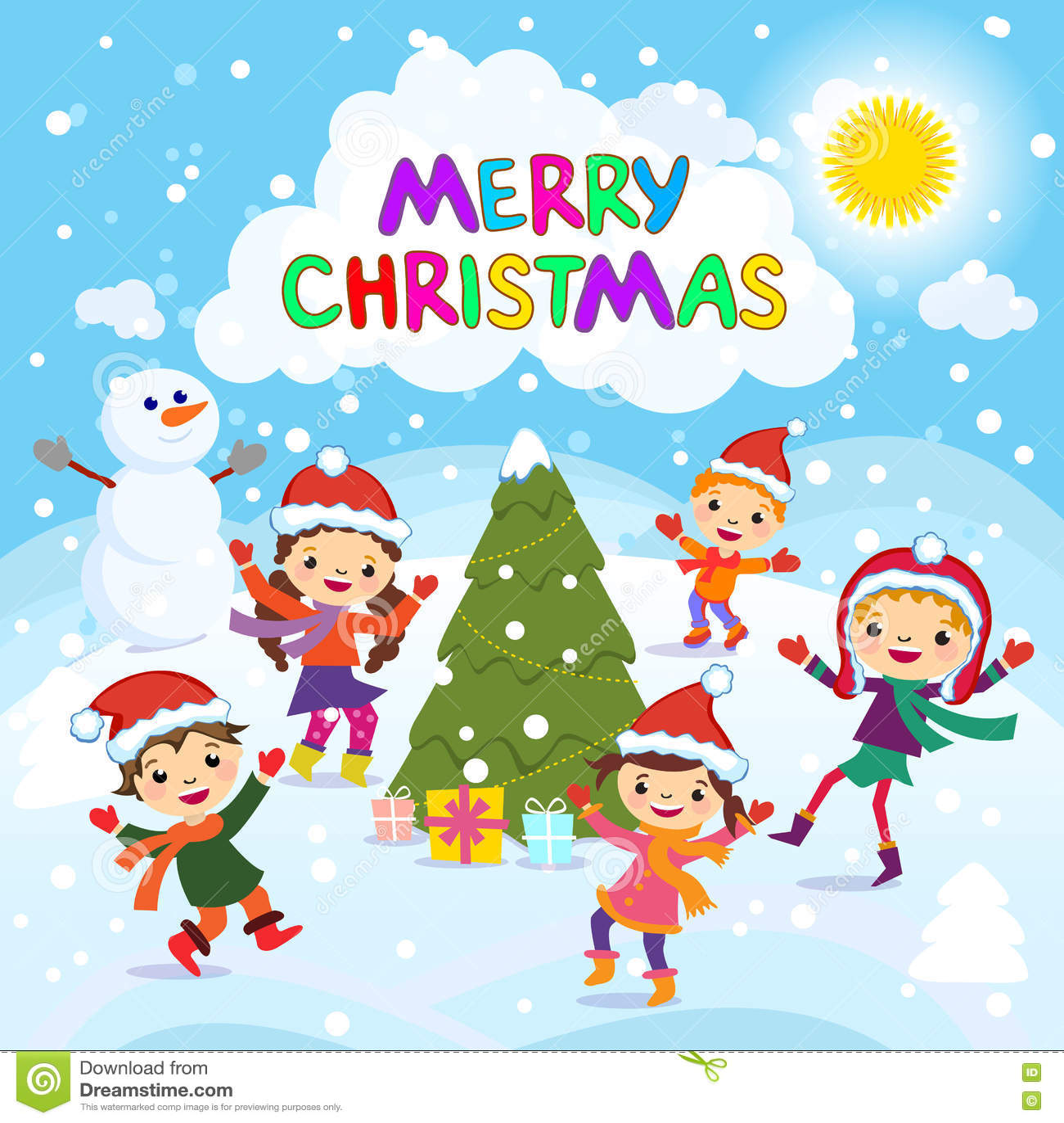 A Very Merry Borik�n Christmas: Feliz Navidad 2017 Diversión Del Invierno Niños Alegres