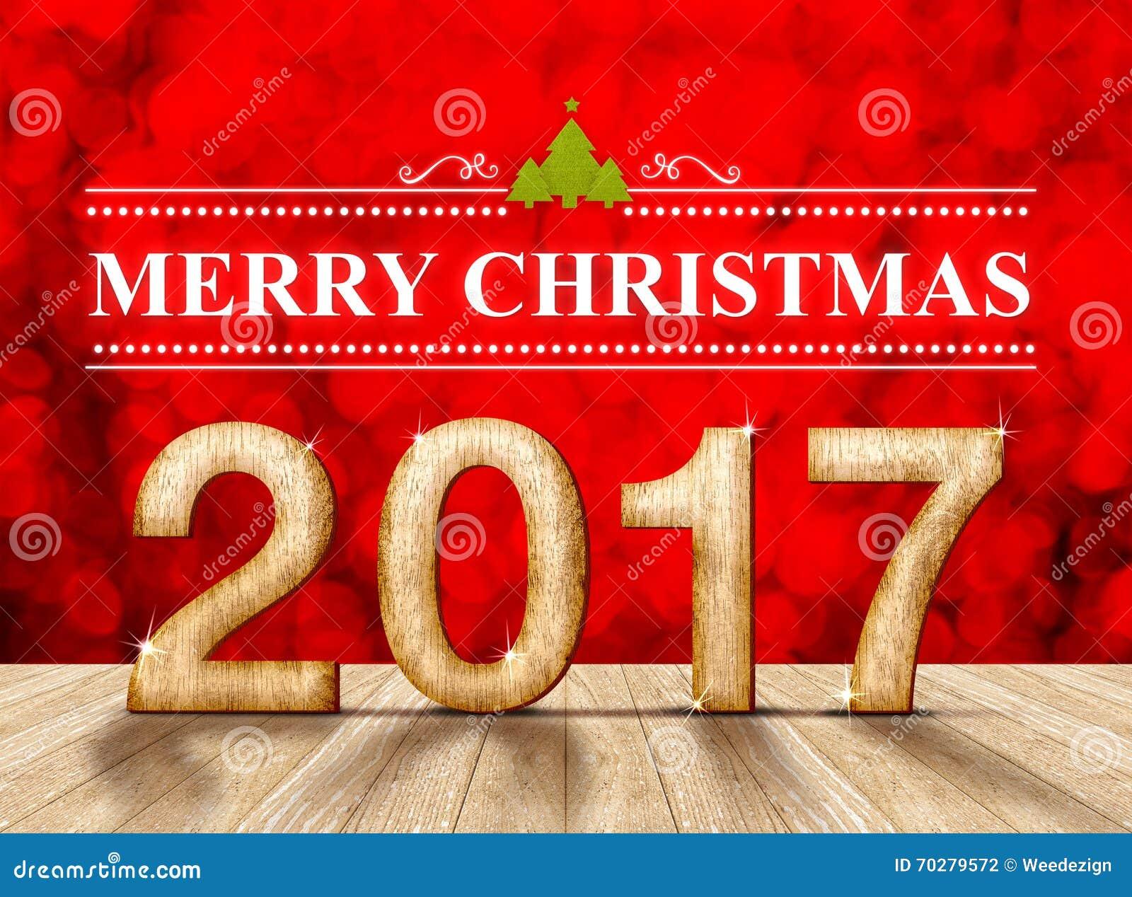 Feliz navidad 2017 en la textura de madera en sitio de la for Adornos navidenos 2017 trackid sp 006