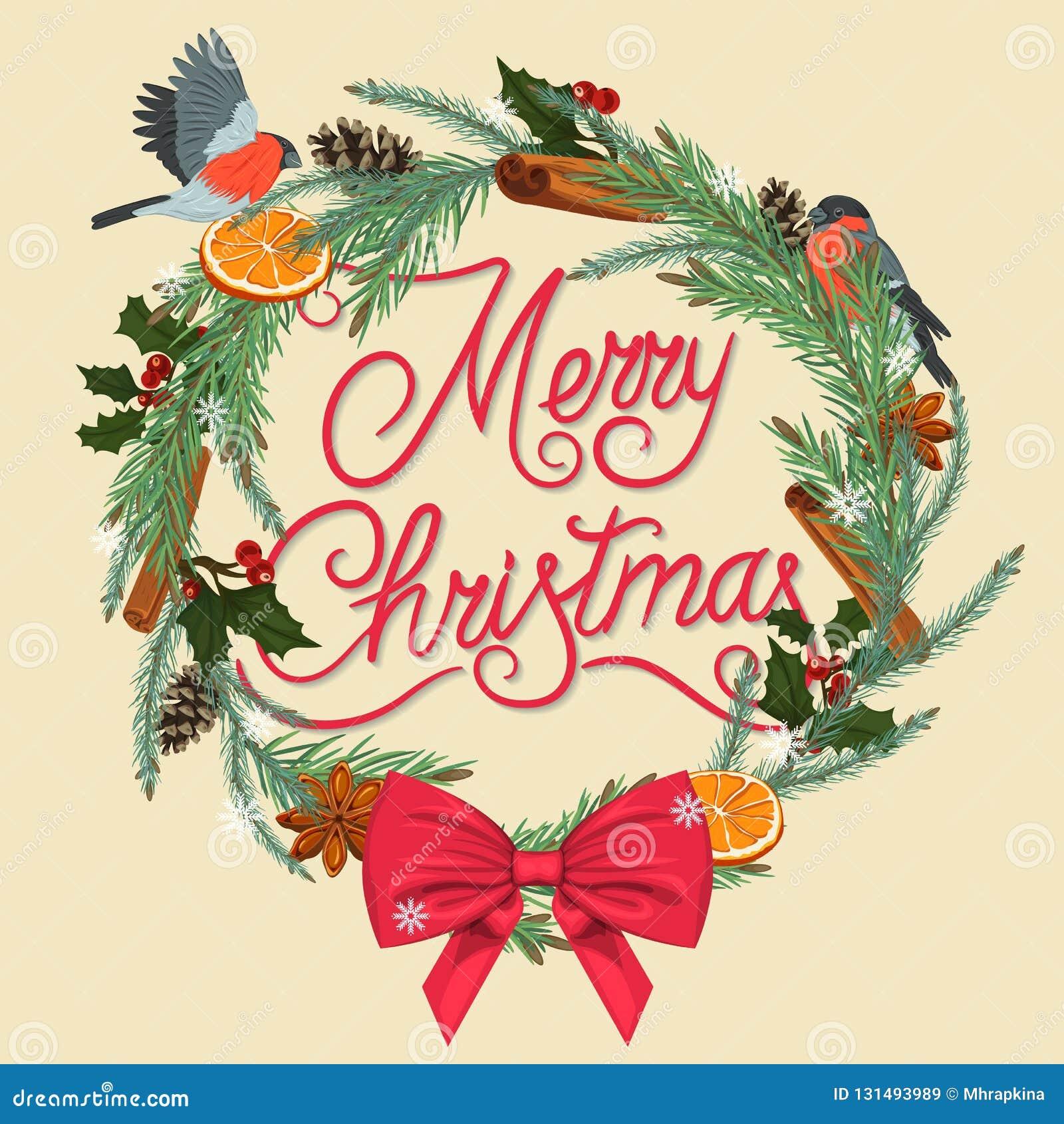Feliz Navidad Guirnalda festiva