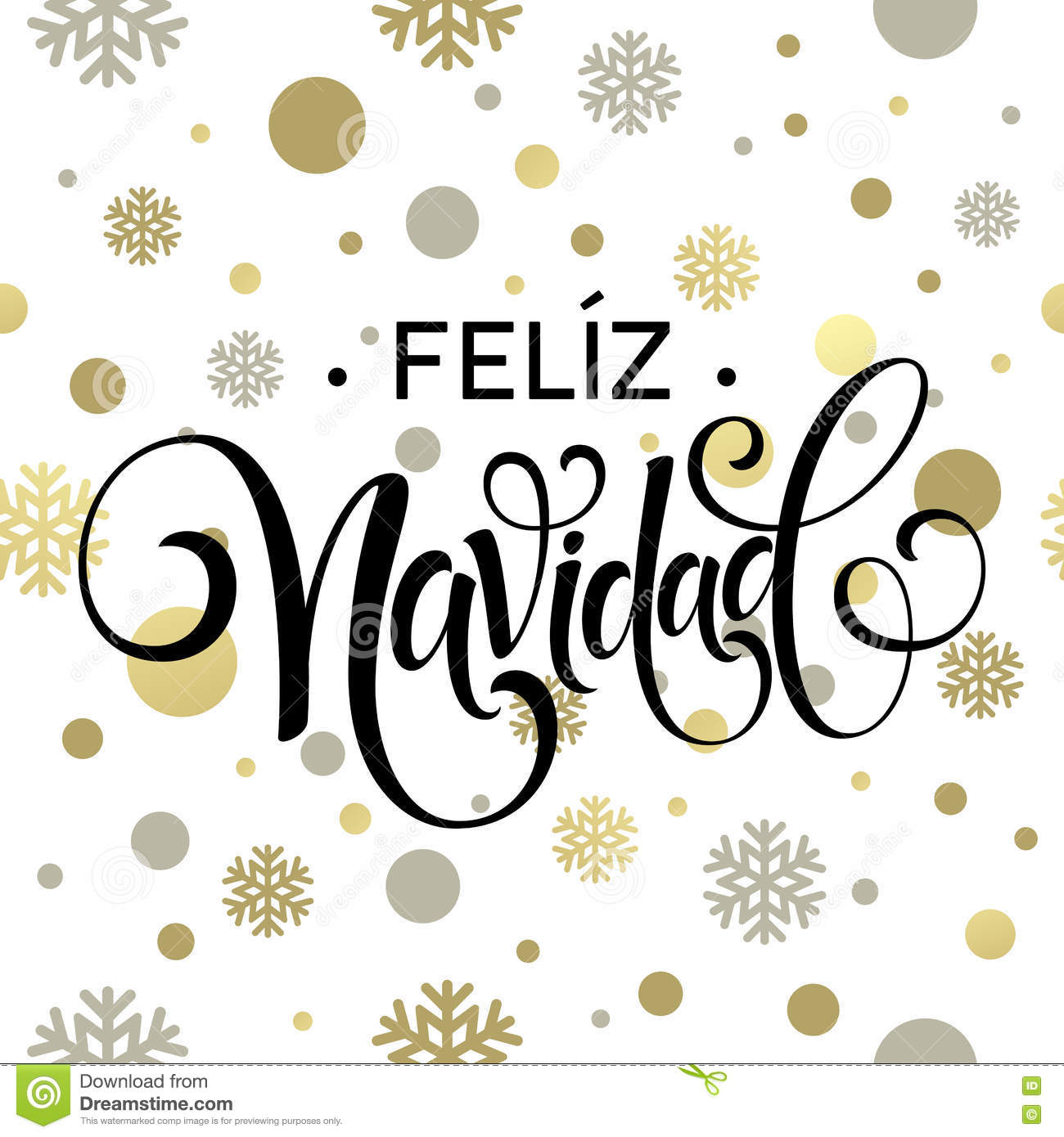 Feliz navidad hand lettering decoration text for greeting for A text decoration