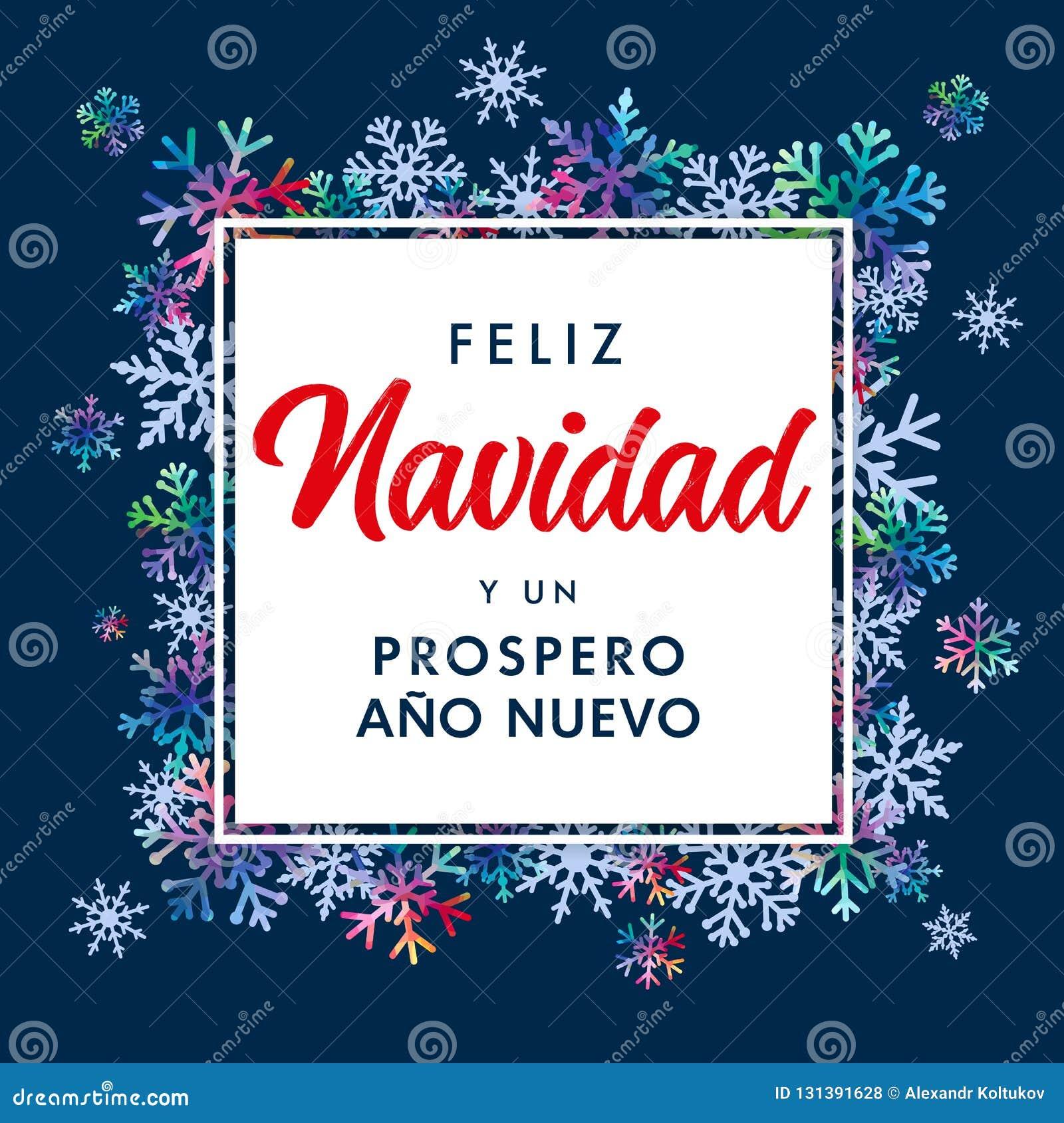 übersetzer Frohe Weihnachten.Feliz Navidad Spanish Text Prospero Ano Nuevo übersetzen Sie