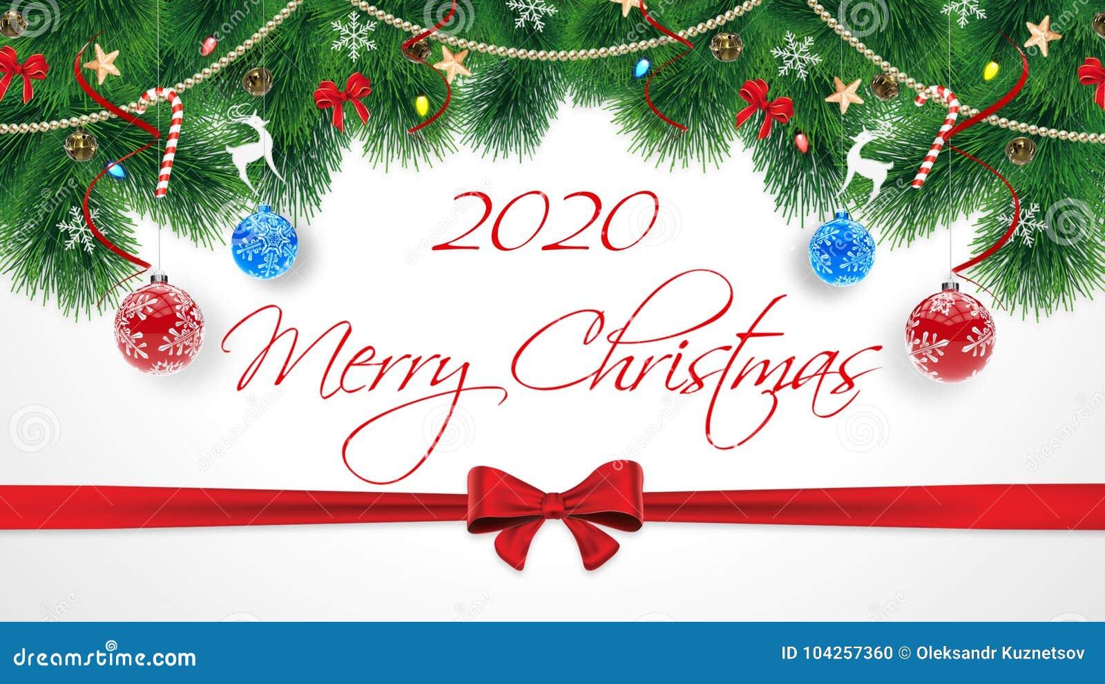 2020 Felizes Natais Cartão Original Bonito Das Felicitações