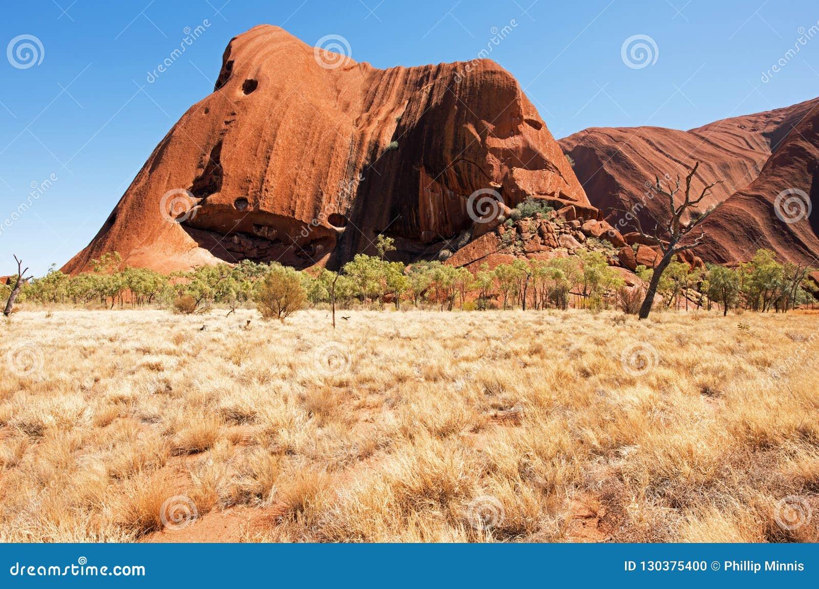 Felsen Uluru Ayers, Nordterritorium, Australien
