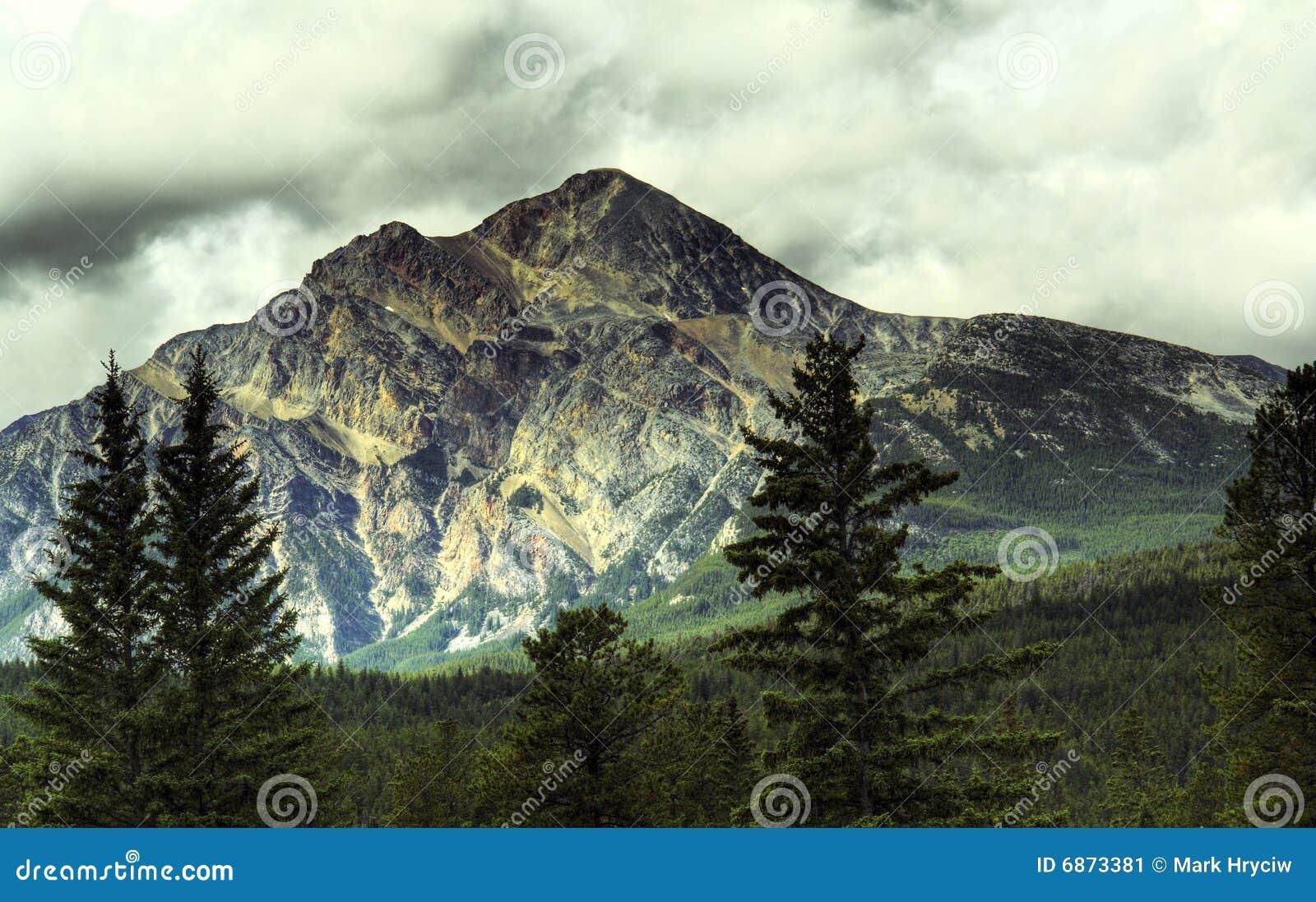 Felsige Berge Kanada