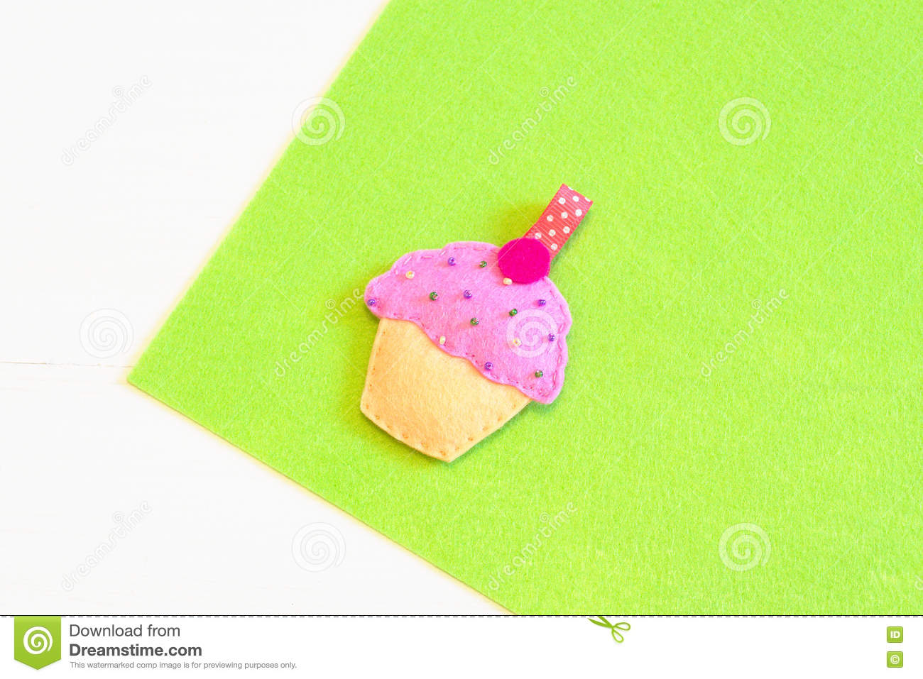 Felt Cupcake Sewing Step Sewing Instructions For Children And