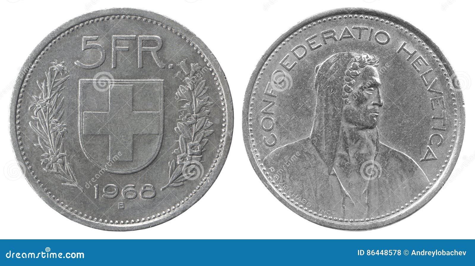 Fem franc mynt