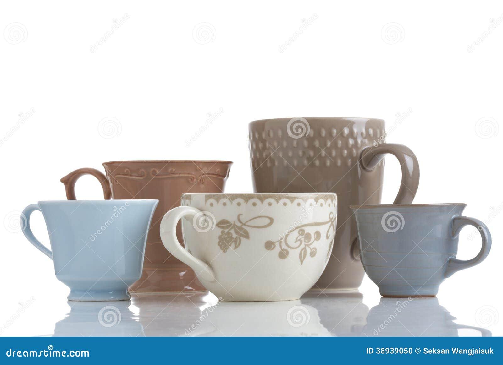 Fem kaffekopp