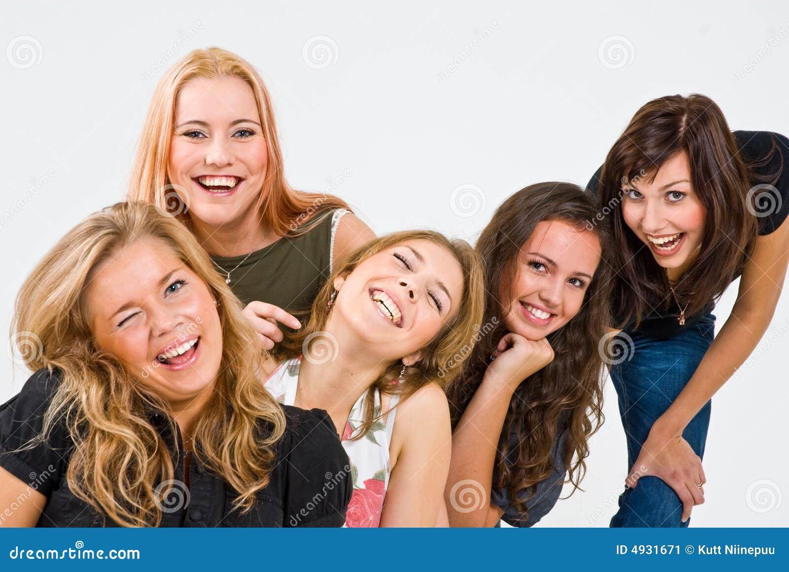 Fem le kvinnor