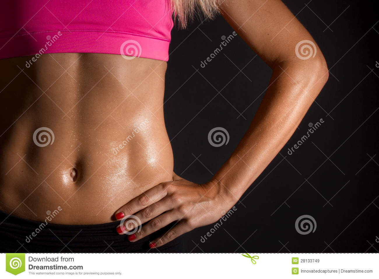 Female Abs Royalty Free Stock Images - Image: 28133749