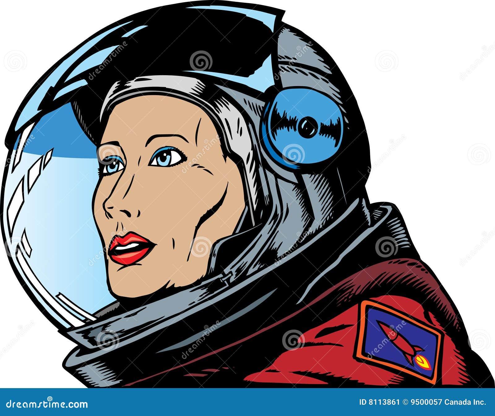 female astronaut clipart - photo #26