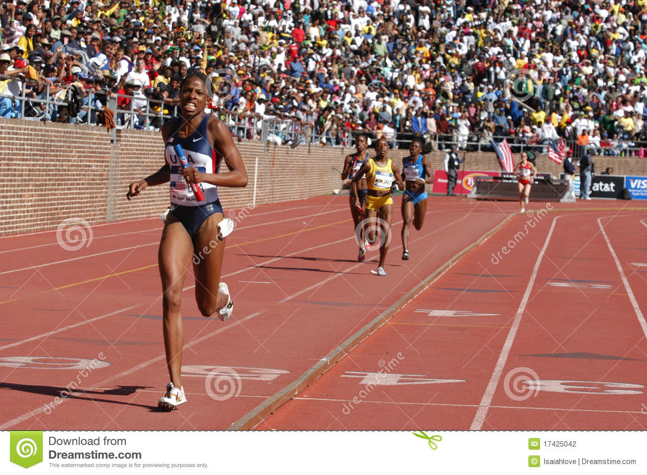 Female Athletic Race Editorial Photography Image 17425042