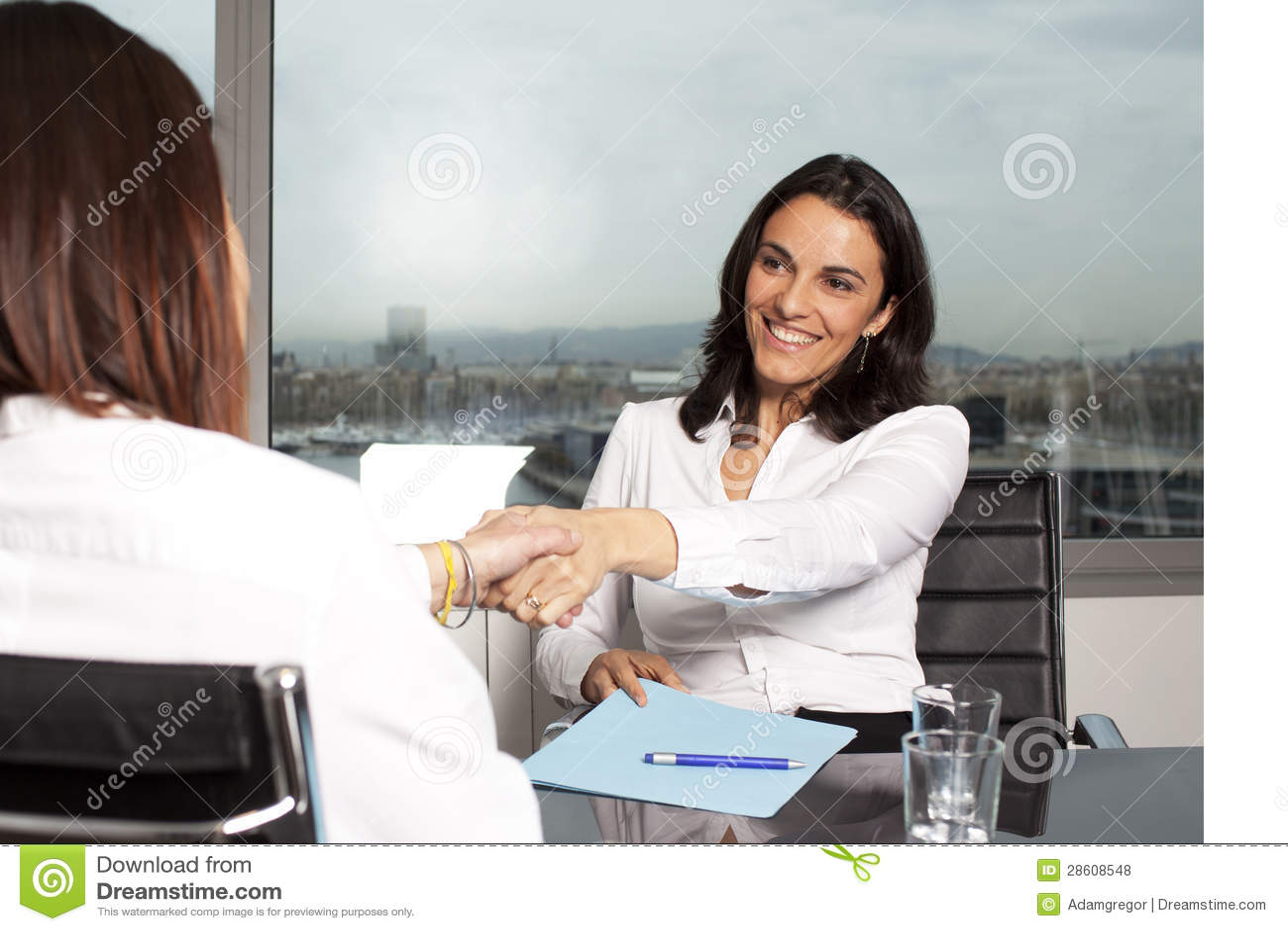 Female banker