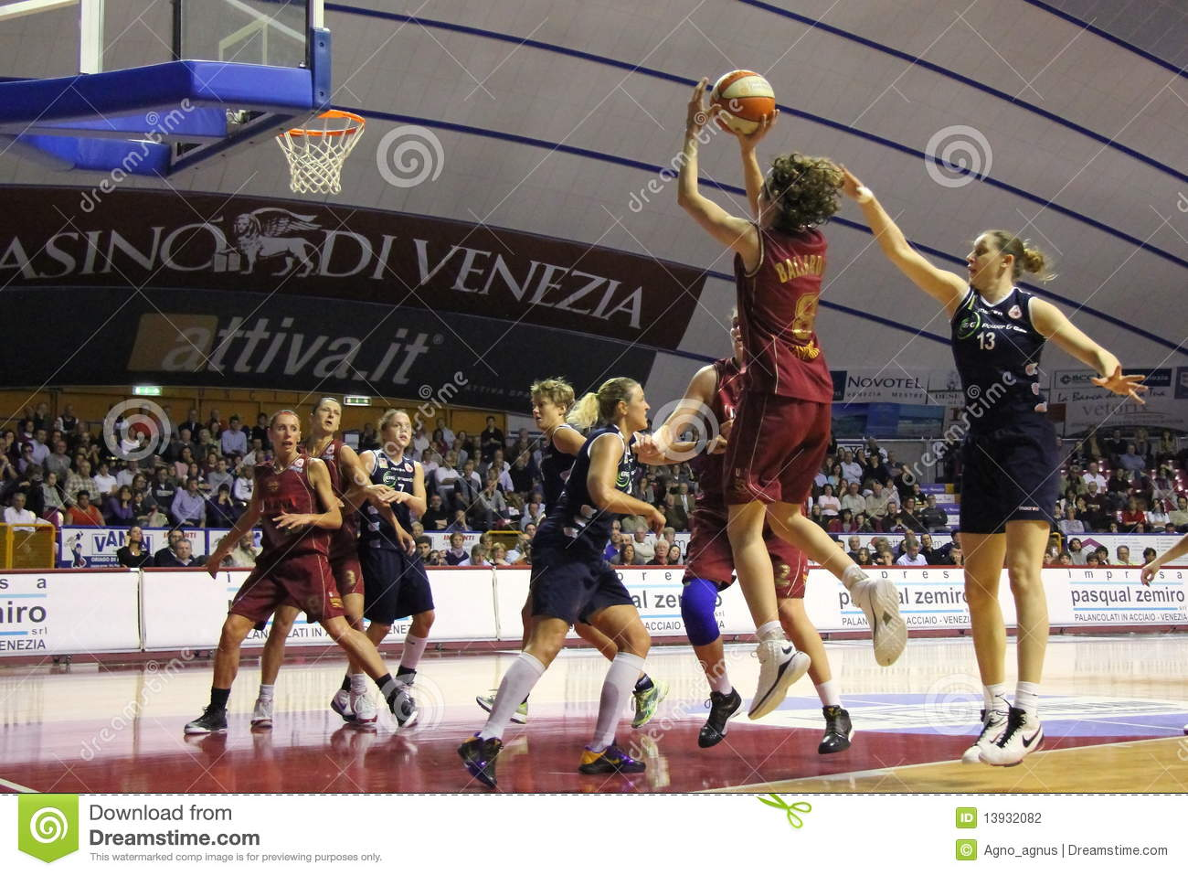 Female Basketball Players In Action Editorial Photography - Image ...
