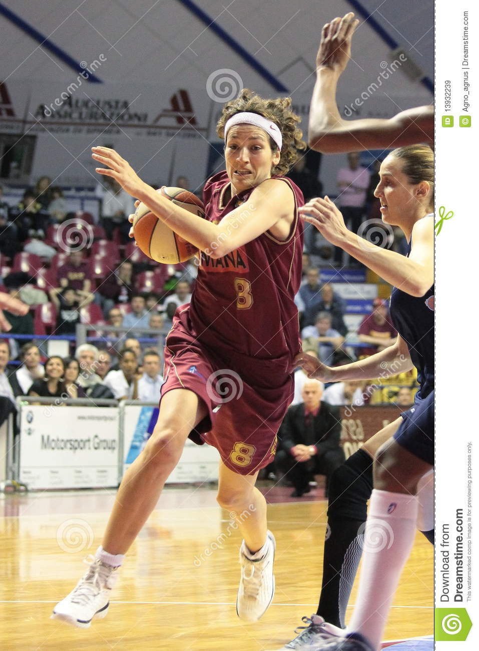 Female Basketball Players In Action Editorial Stock Image - Image ...