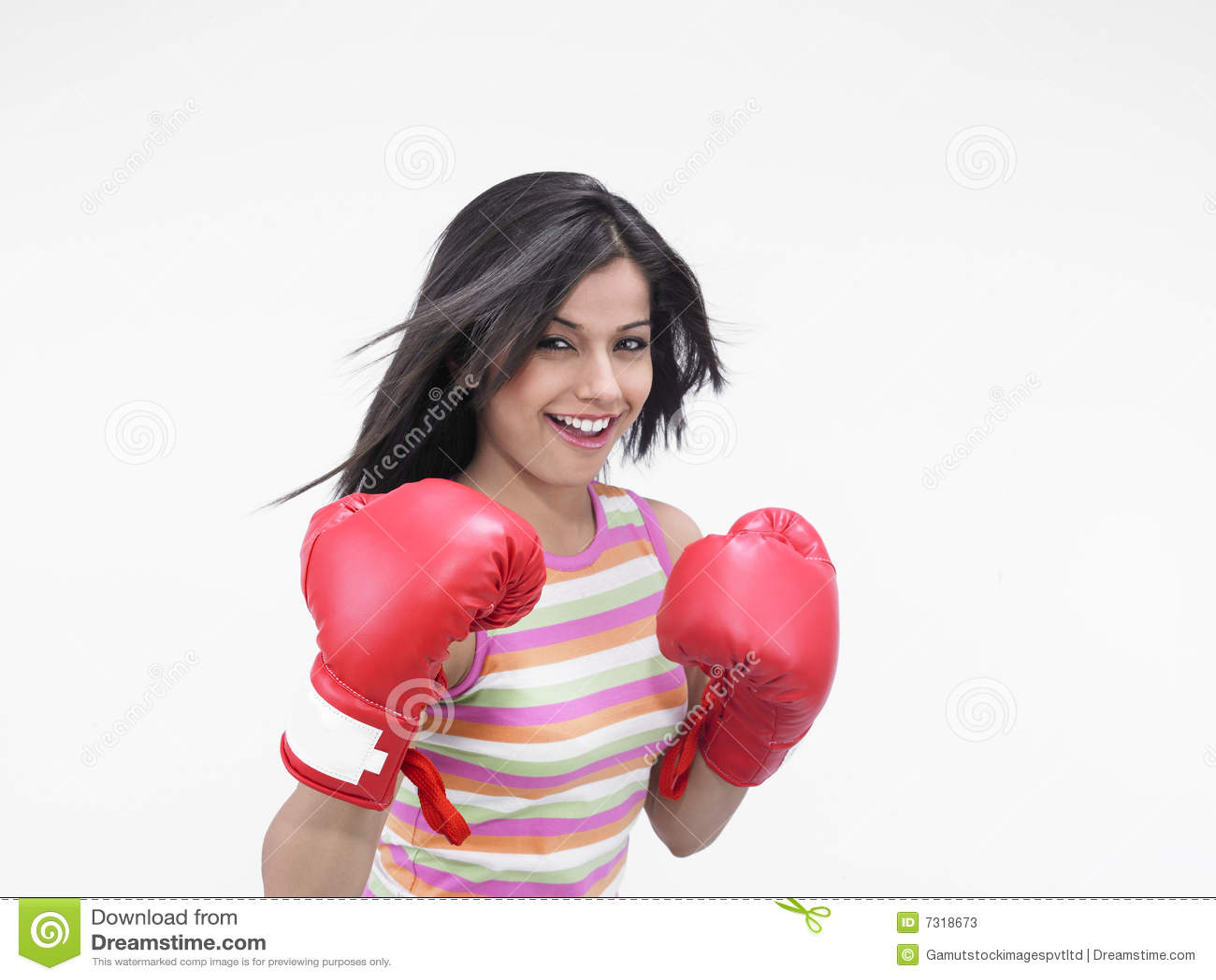 Female Boxer Of Indian Origin Stock Photos Image 7318673