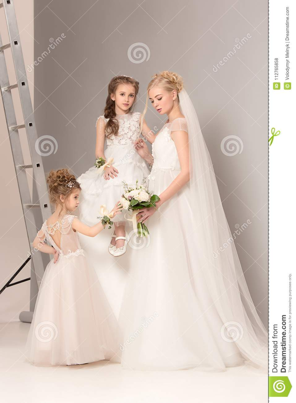 Dresses wedding with sleeves in cute concepts exclusive photo