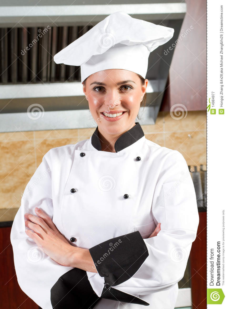 Female Chef Royalty Free Stock Photography - Image: 14984977