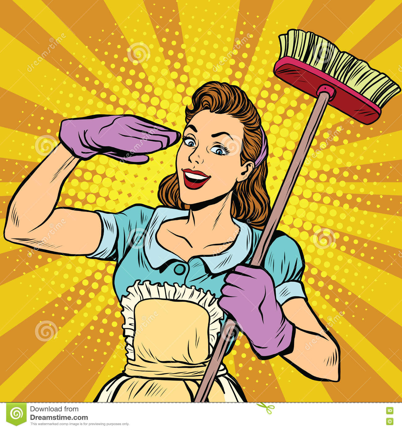 Housewife Cartoons Illustrations Amp Vector Stock Images