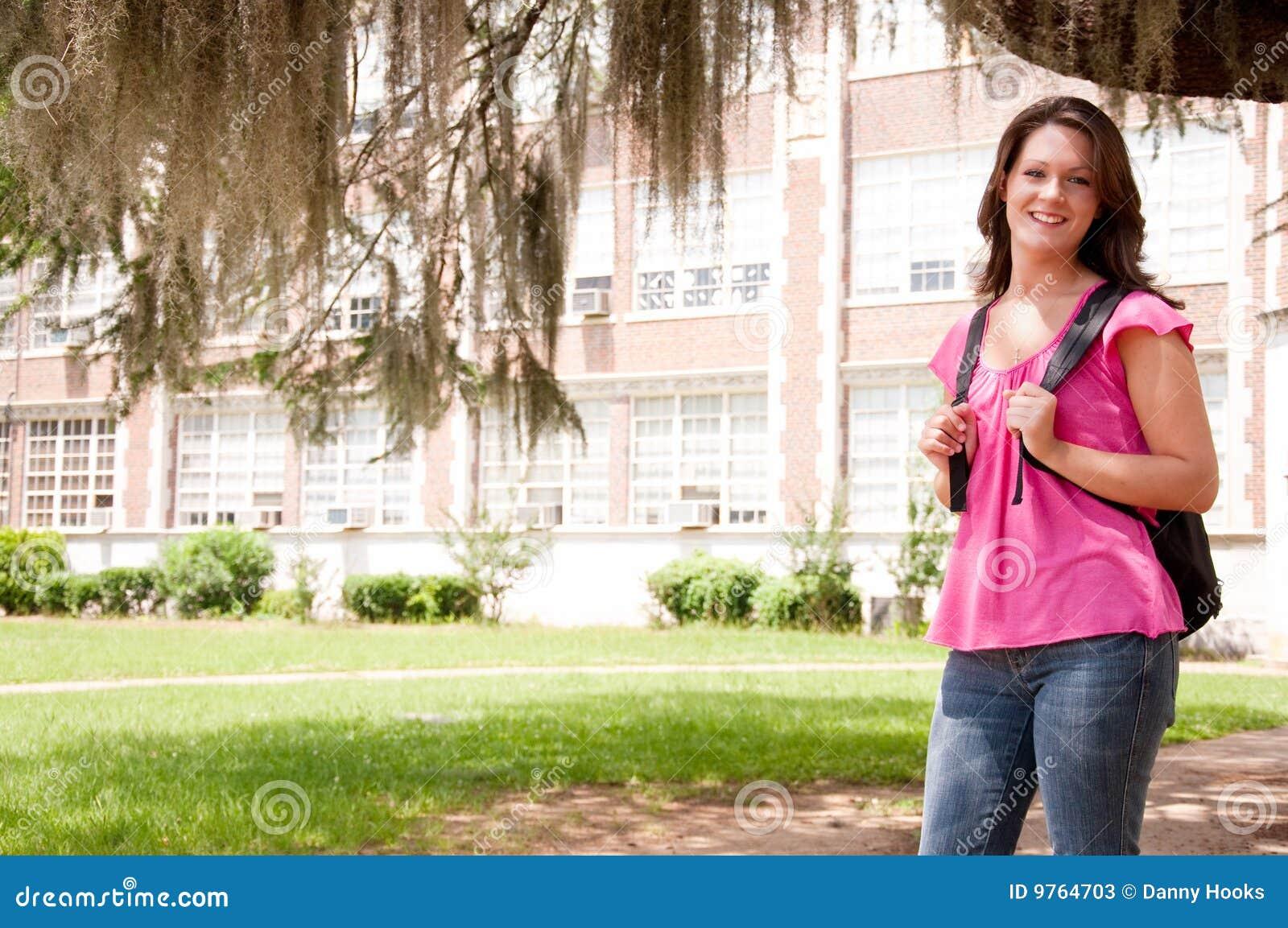 Студенточки в колледже 12 фотография
