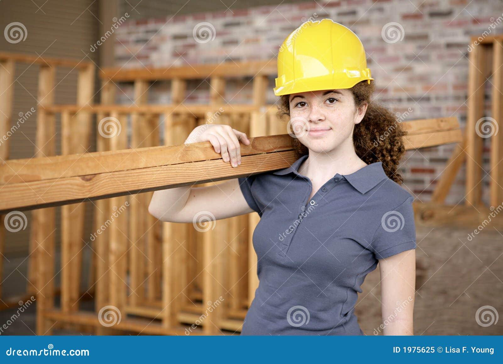 Female Construction Apprentice