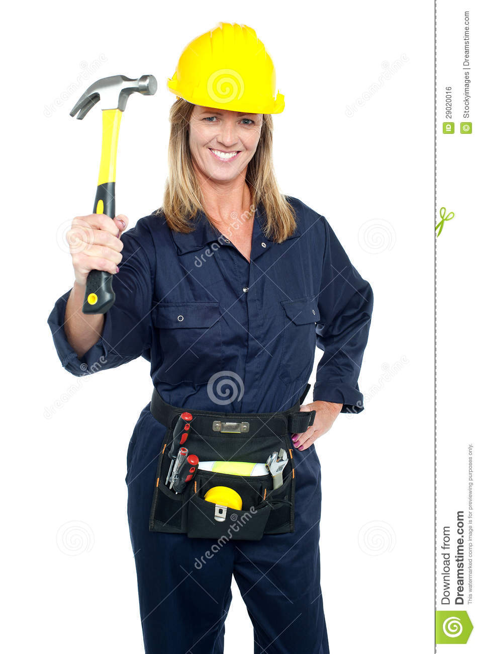 Aged construction worker - 5 9