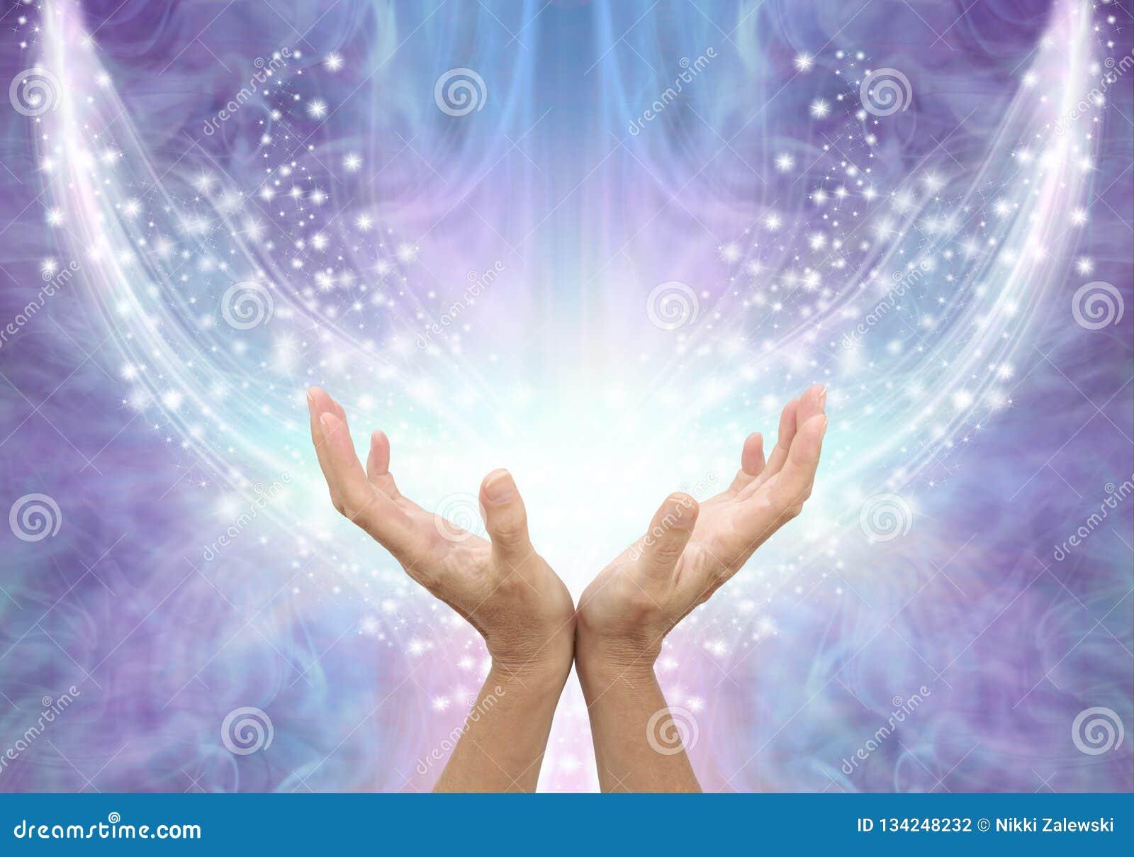 Bathing in Beautiful Healing Resonance
