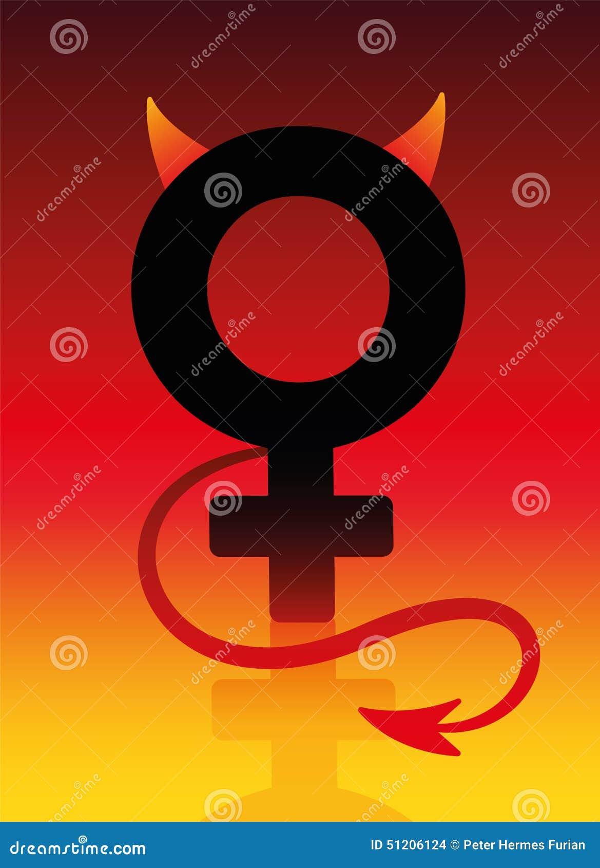 Bad Girl Symbol