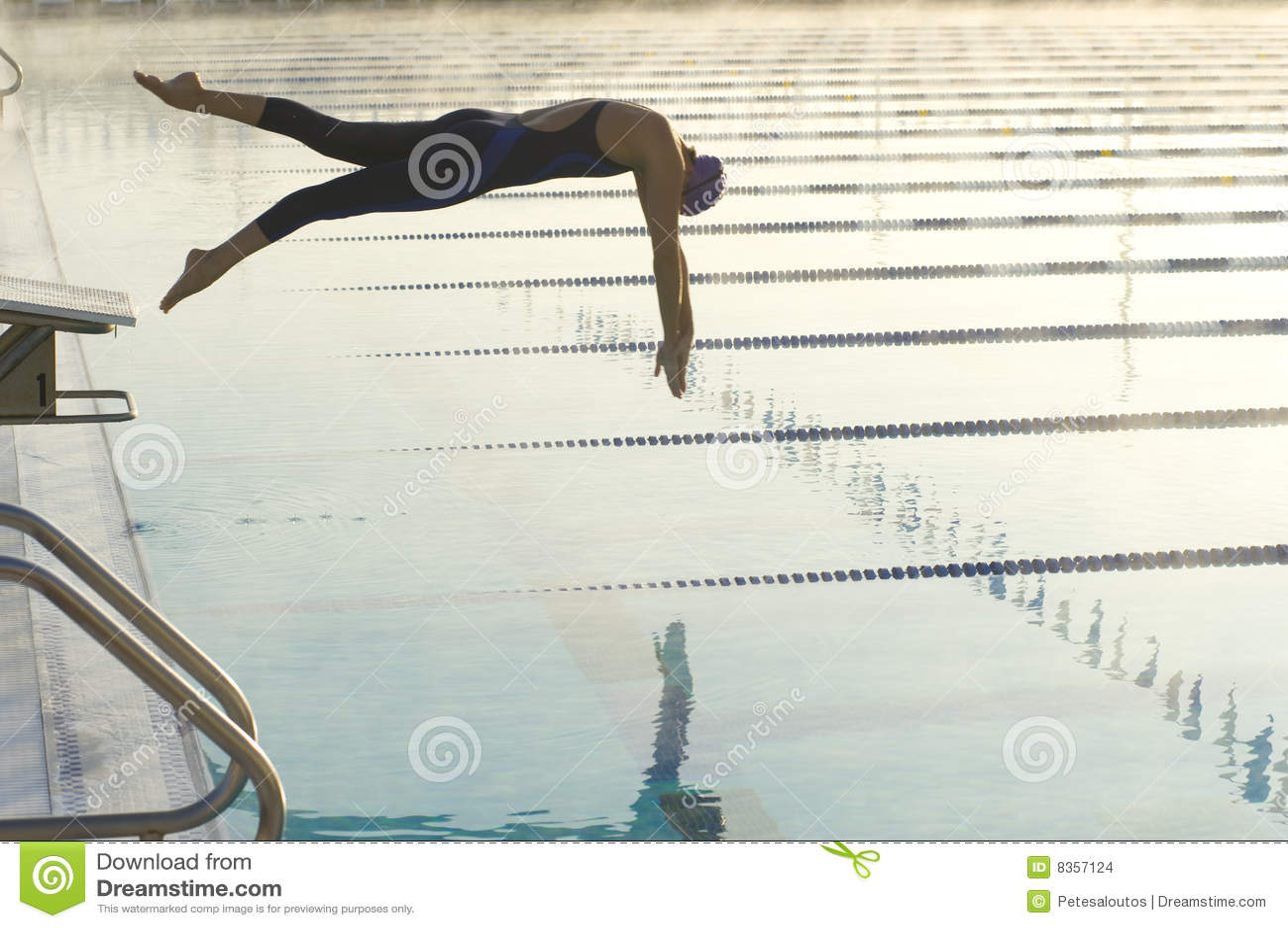 Female Dive Start