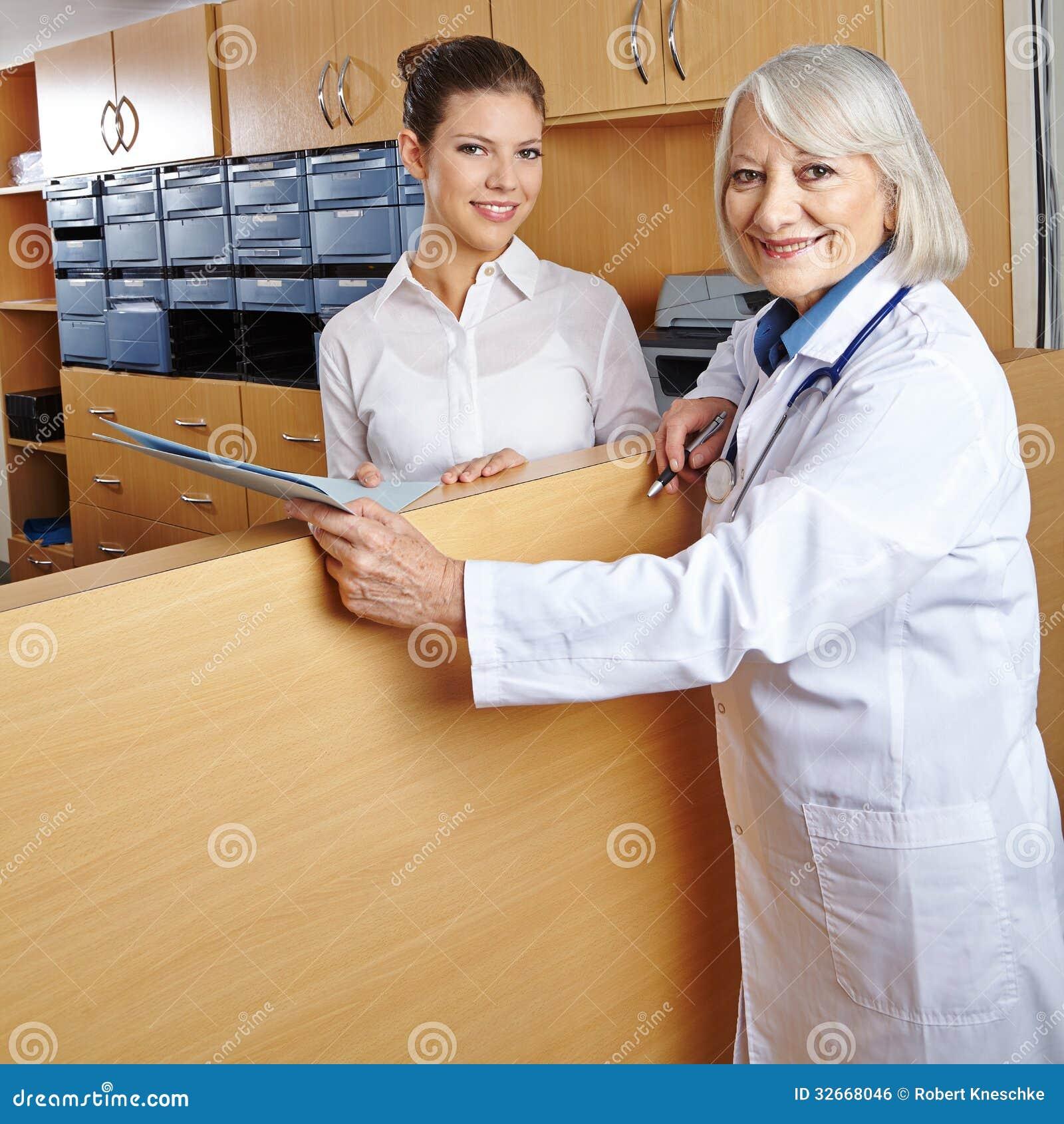 Receptionist  Hospital BiographyHospital Receptionist