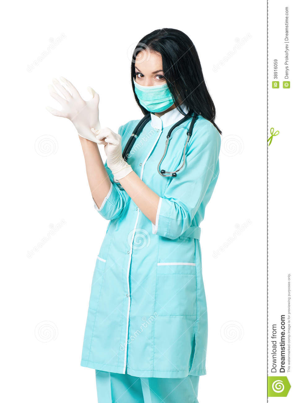 Female Doctor Stock Image Image Of Adult, Glove, Care - 38916059-5085