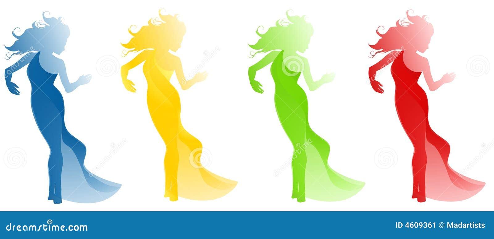 female fashion clip art stock image image 4609361 Rain Clip Art Foggy' Clip Art