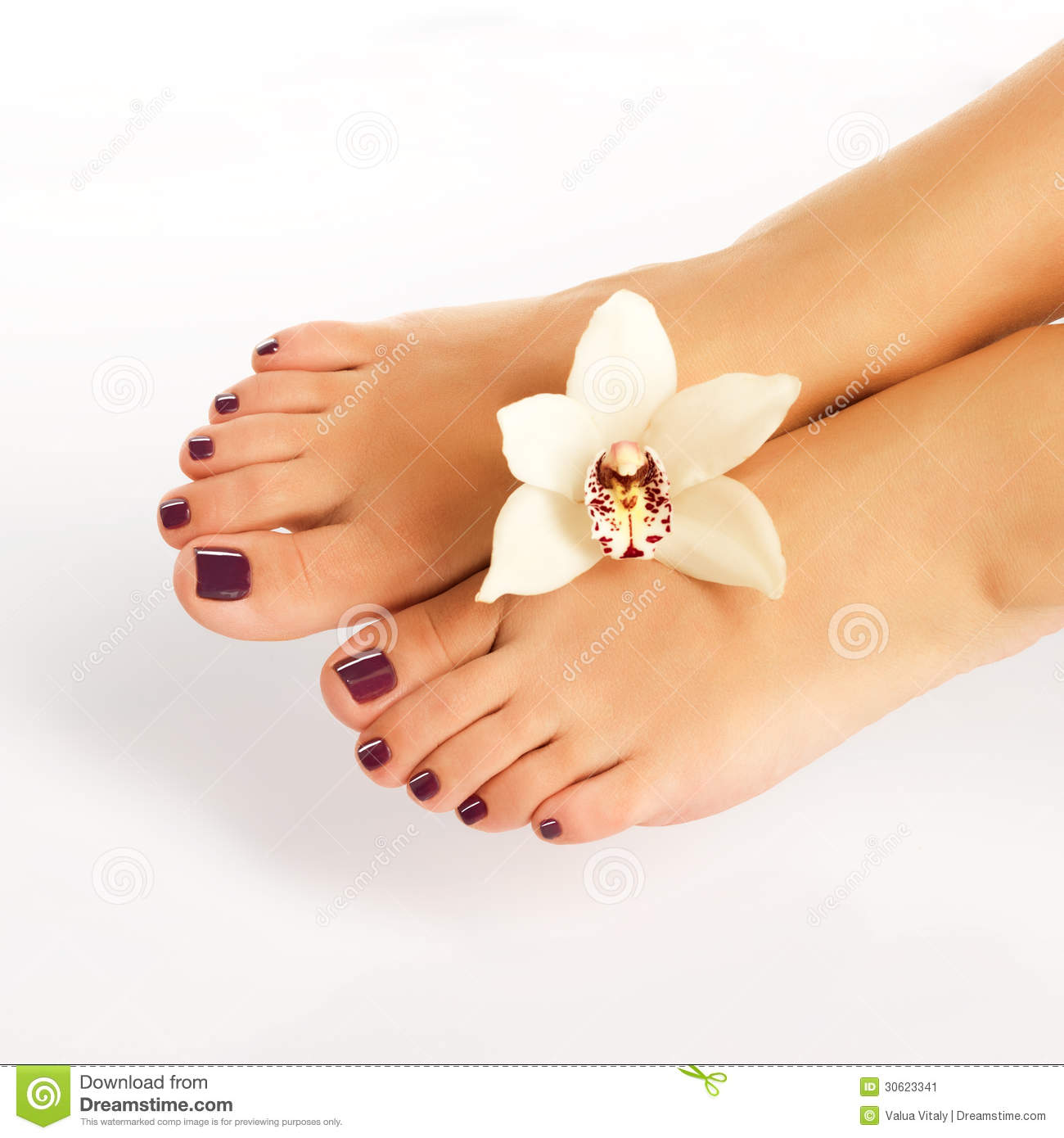 Beautiful feet clipart for Spa closest to me