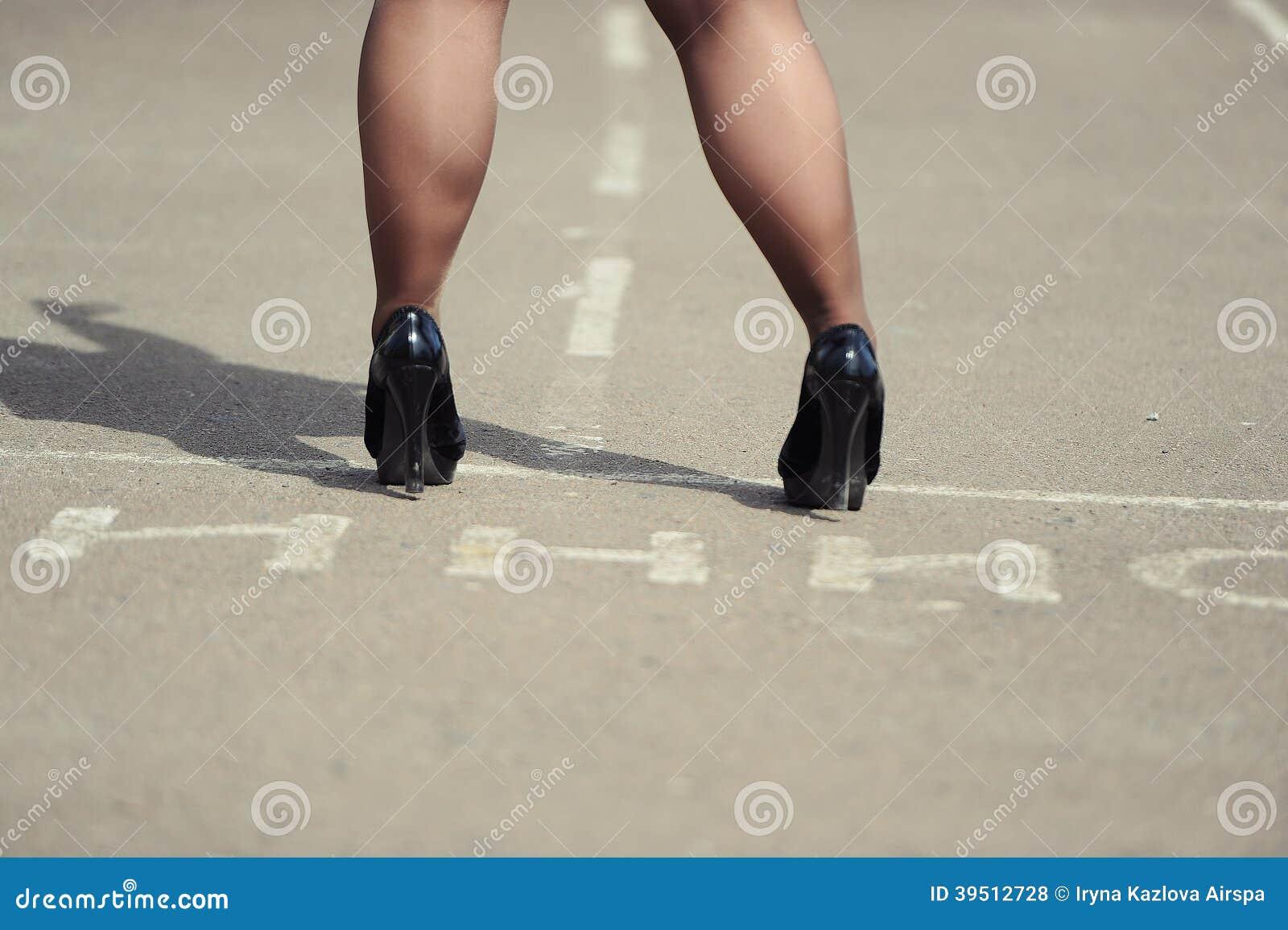 Female feet