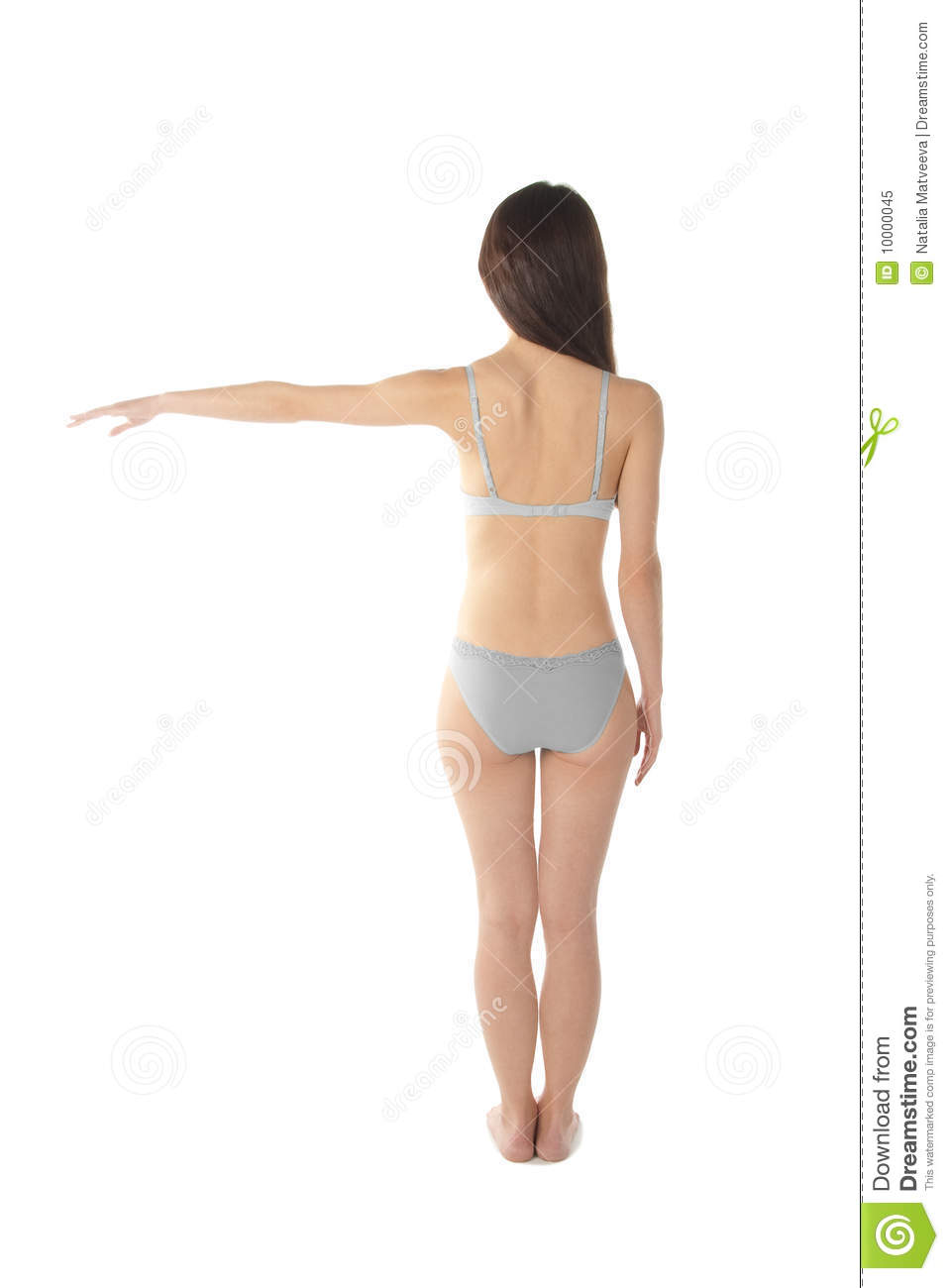 Download Female figure stock image. Image of health, hair, isolated - 10000045