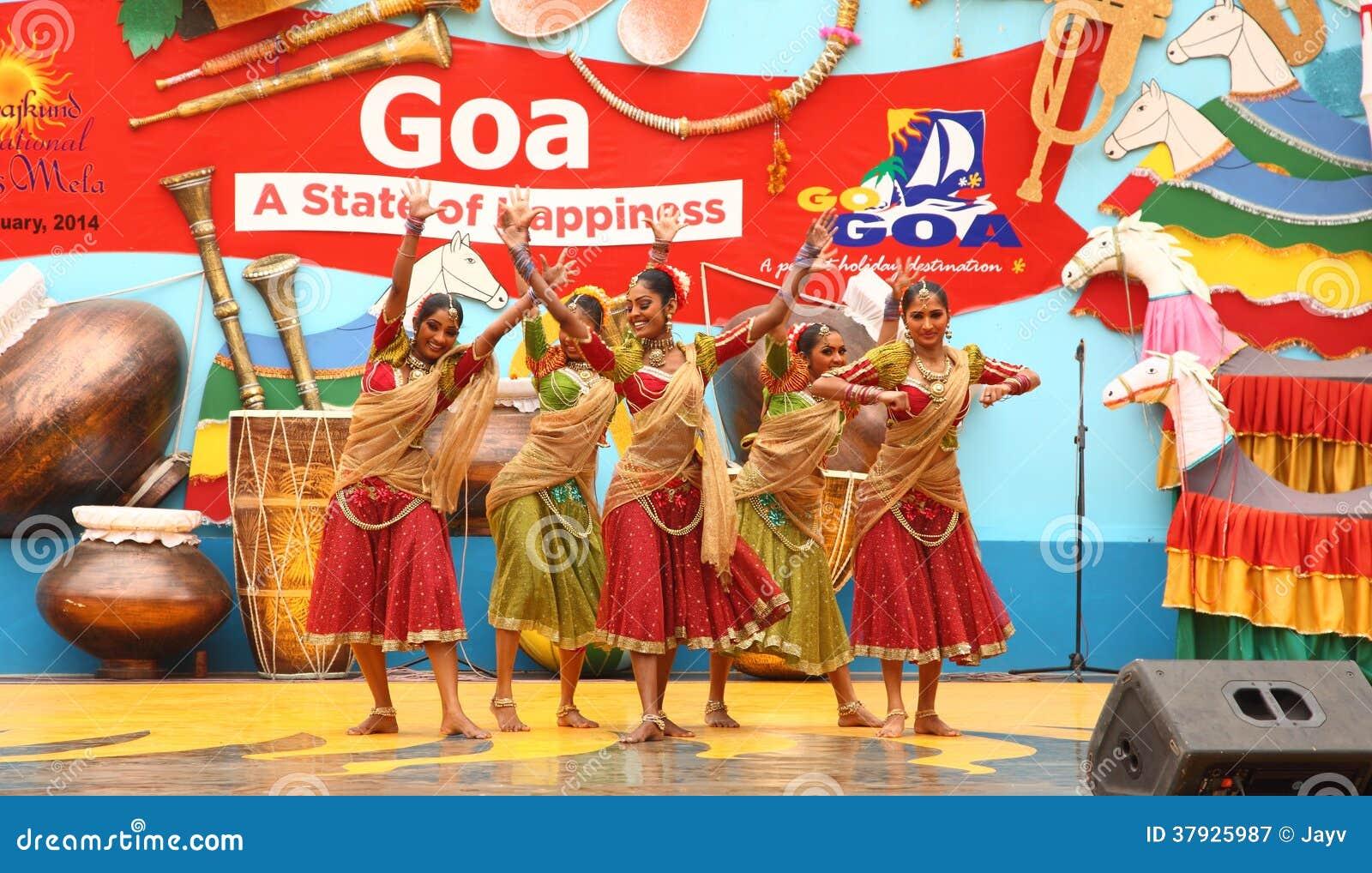 Female Folk Dancer of Sri Lanka