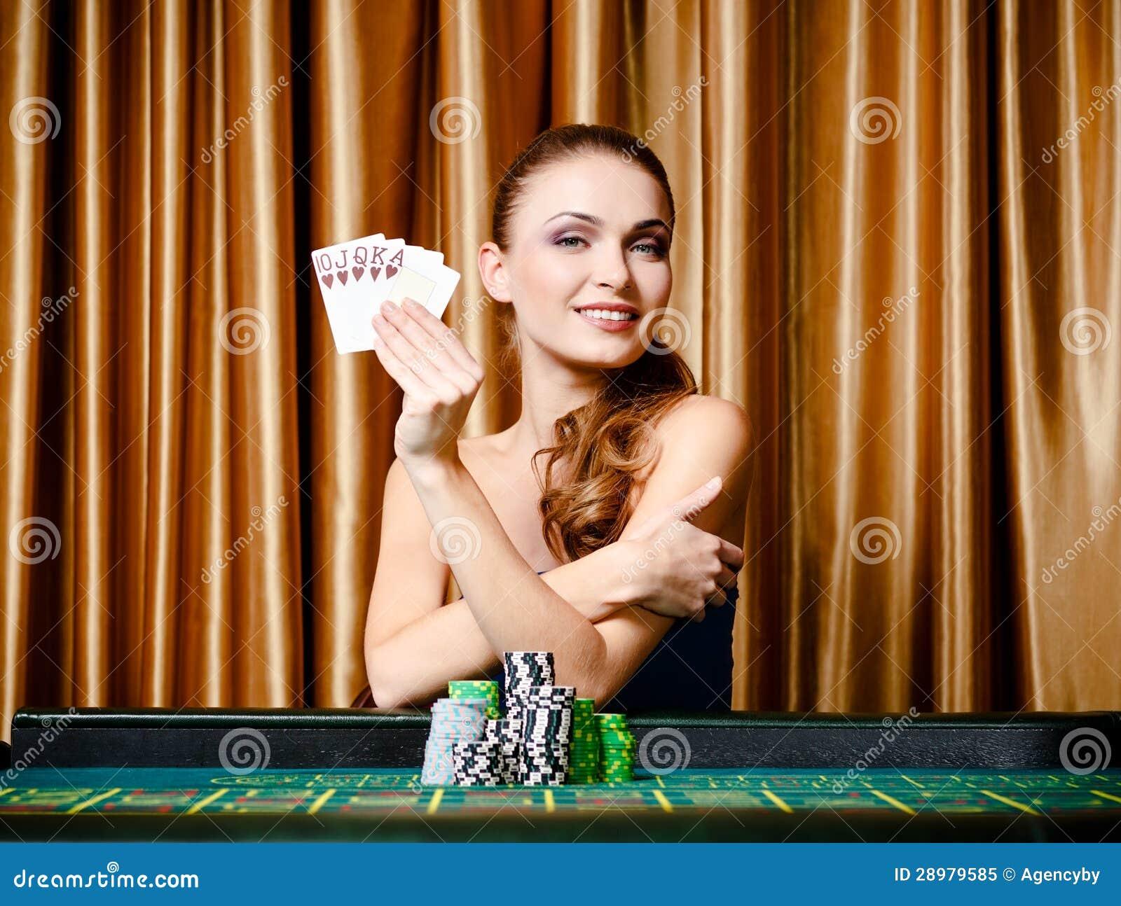 Female Gambler
