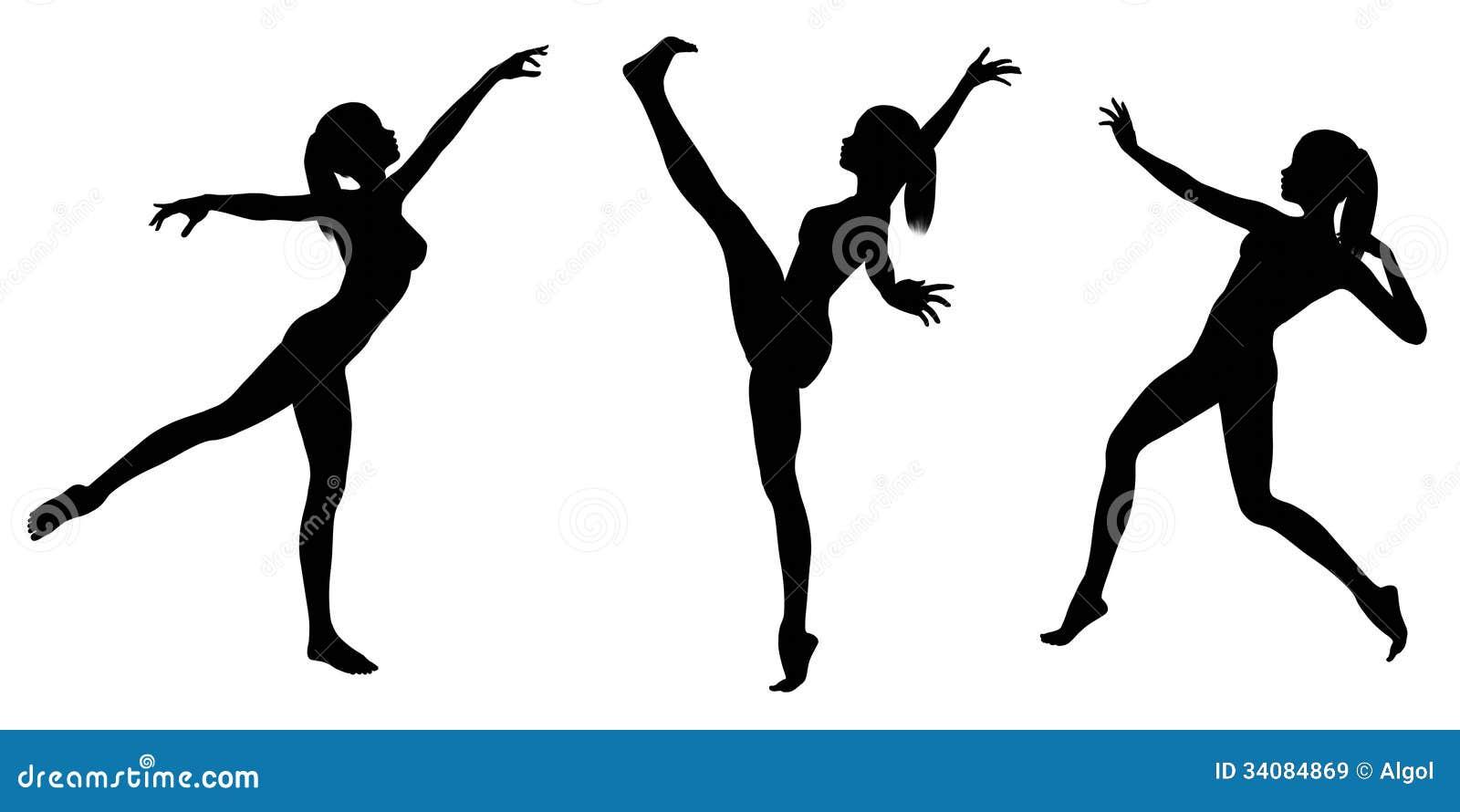 clip art gymnastics poses - photo #7