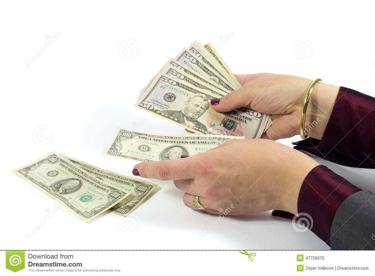 worksheet Counting Dollar Bills female hand counting american dollar bills on white background royalty free stock photo download bills