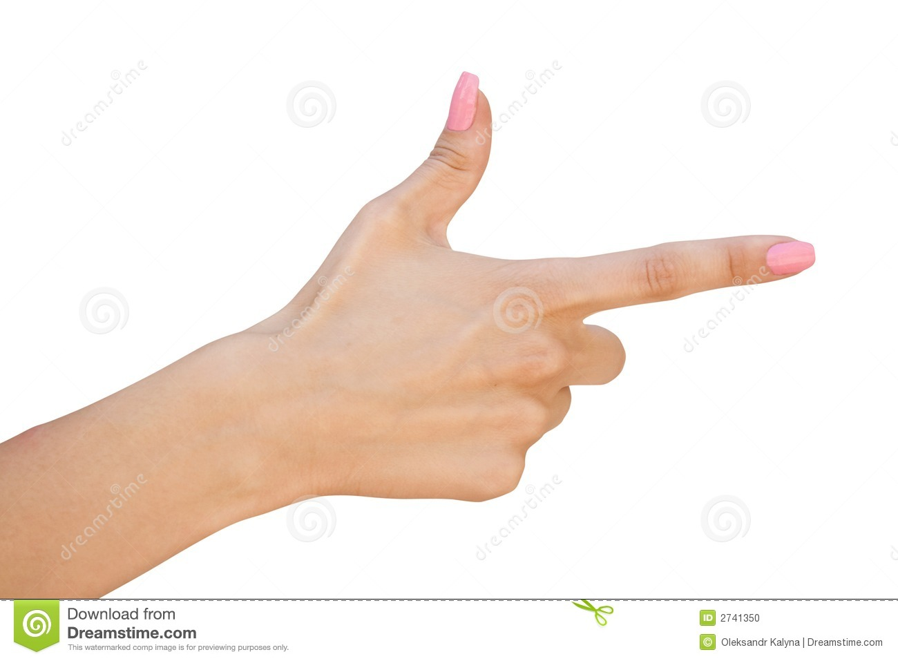 More similar stock images of ` Female hand with forefinger `