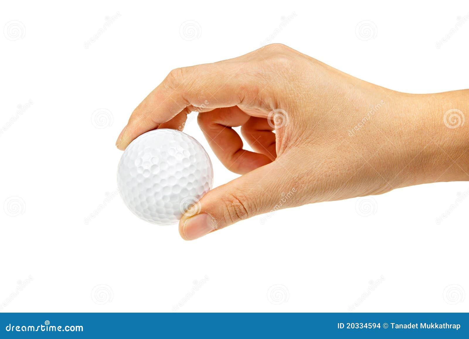 Female Hand Holding Golf Ball Stock Images - Image: 20334594