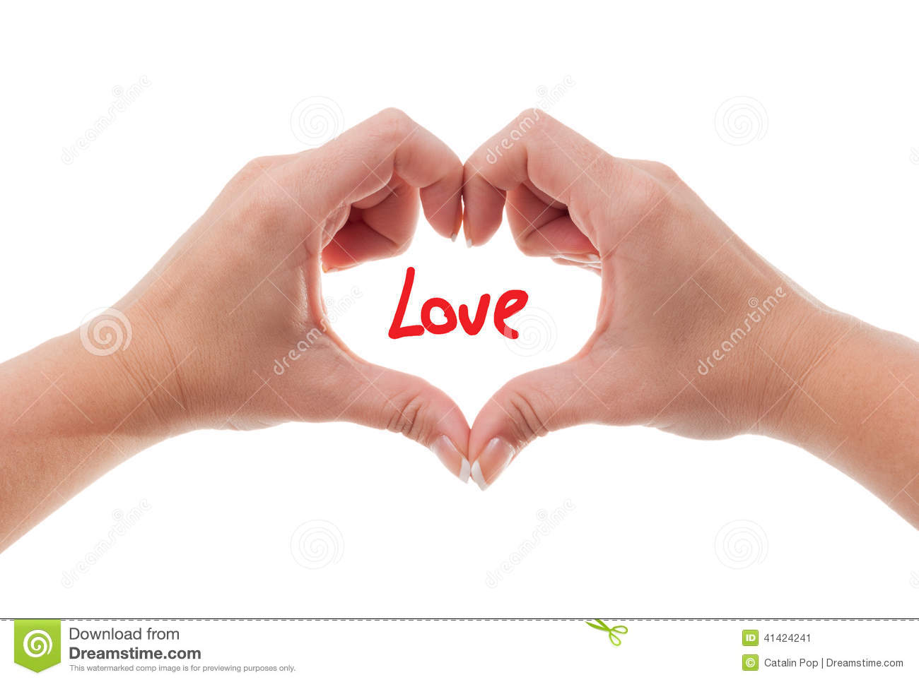 female hand showing the love sign stock image - image of idea, hands