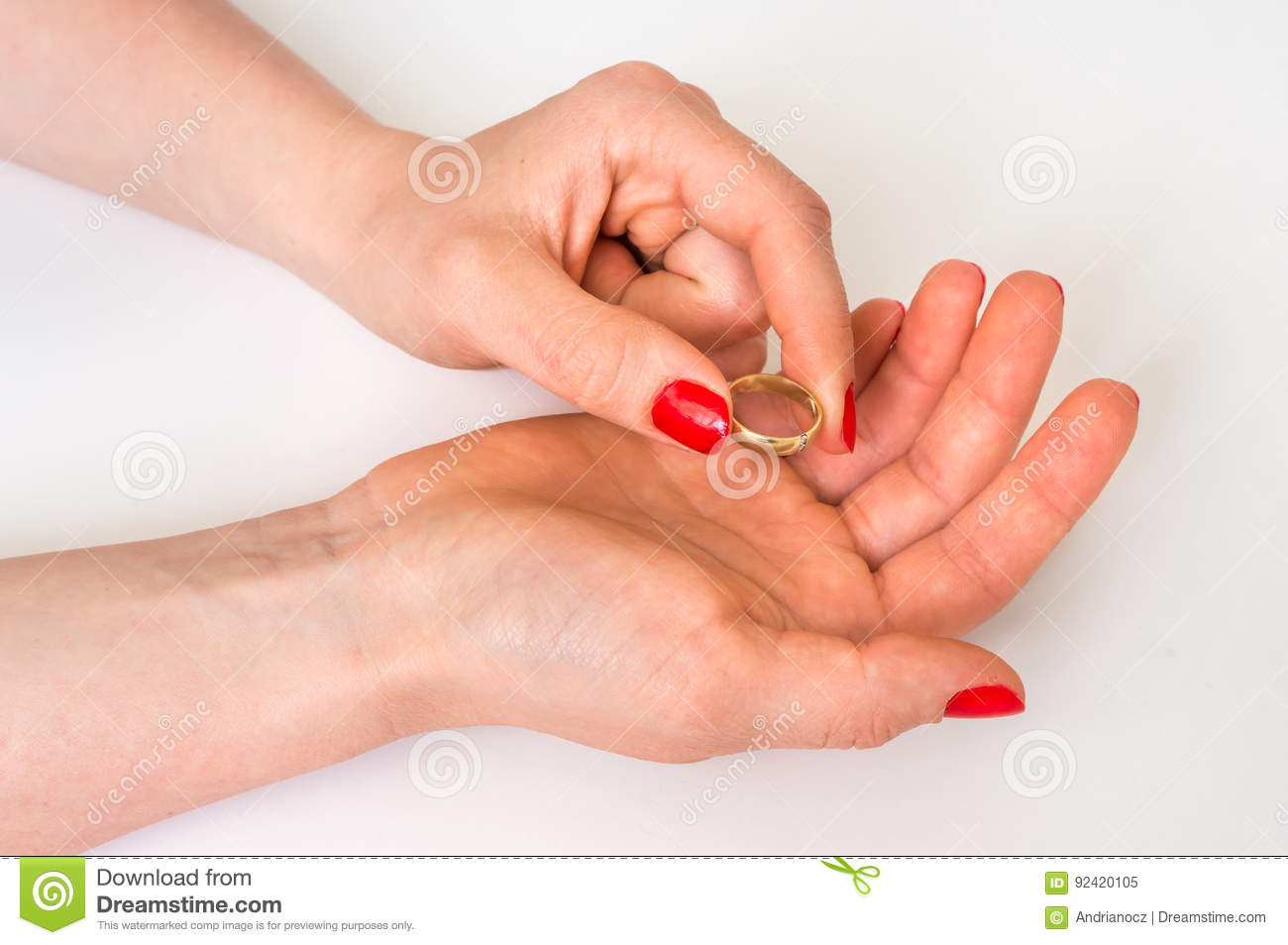 Which Hand Wedding Ring Female.Female Hand With Wedding Ring Divorce Concept Stock Image Image