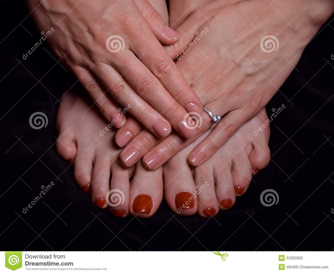 female hands with manicure and feet with pedicure stock free clipart engagement ring clipart pictures of engagement rings