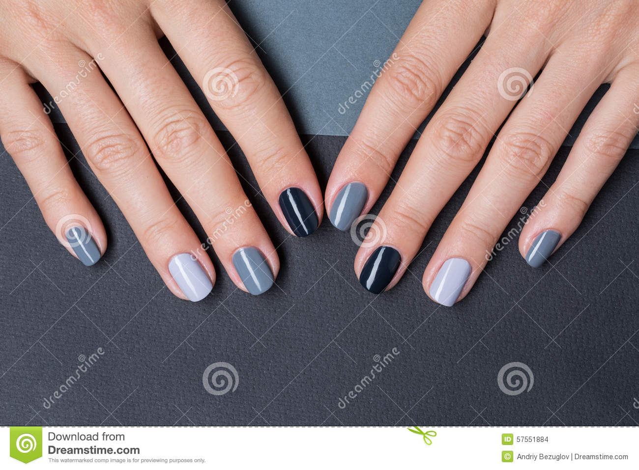 Female Hands With A Stylish Neutral Manicure Stock Photo - Image of ...